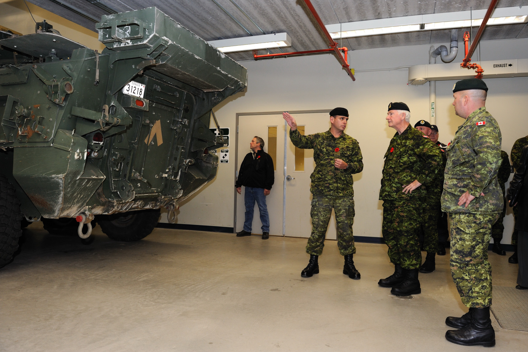 CFB Gagetown was officially opened in 1958 as a training facility. With 1 100 square kilometres of training area, CFB Gagetown is the second largest military base in Canada and the largest training facility in Eastern Canada.