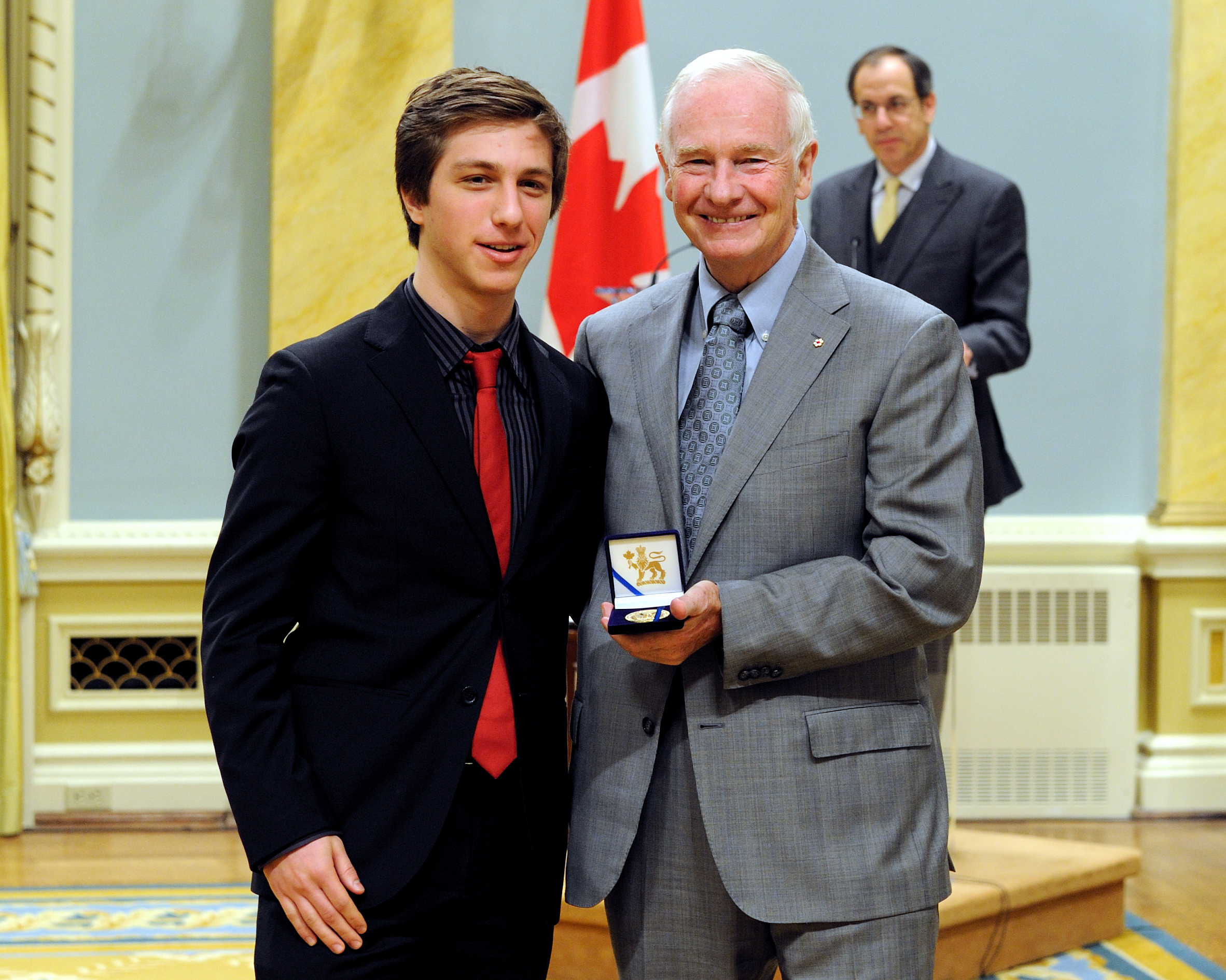 "The Historica-Dominion Institute Great Questions Essay Competition was awarded to Jesse Shulman of Toronto, Ontario, for his essay entitled ""Canada's Identity Evolution""."