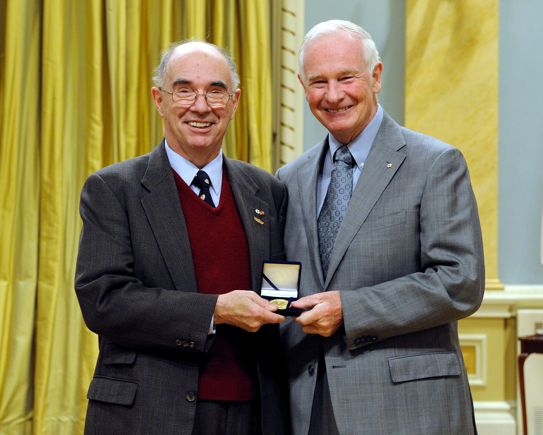 Mr. Desmond Morton is the winner of the 2010 Pierre Berton Award. Since 1993, the Pierre Berton Award has been presented annually by Canada's National History Society to honour achievement in promoting greater interest in Canadian history through popular media.