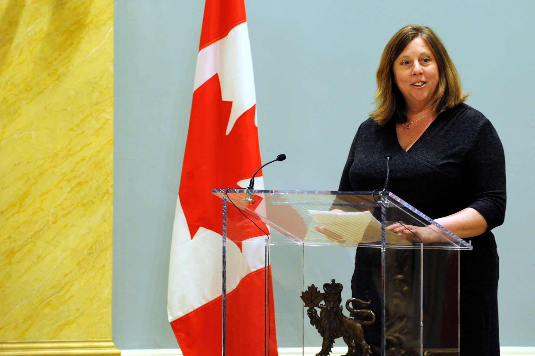 CEO and President of Canada's National History Society Mrs. Deborah Morrison delivered a speech during which she congratulated this year's winners.