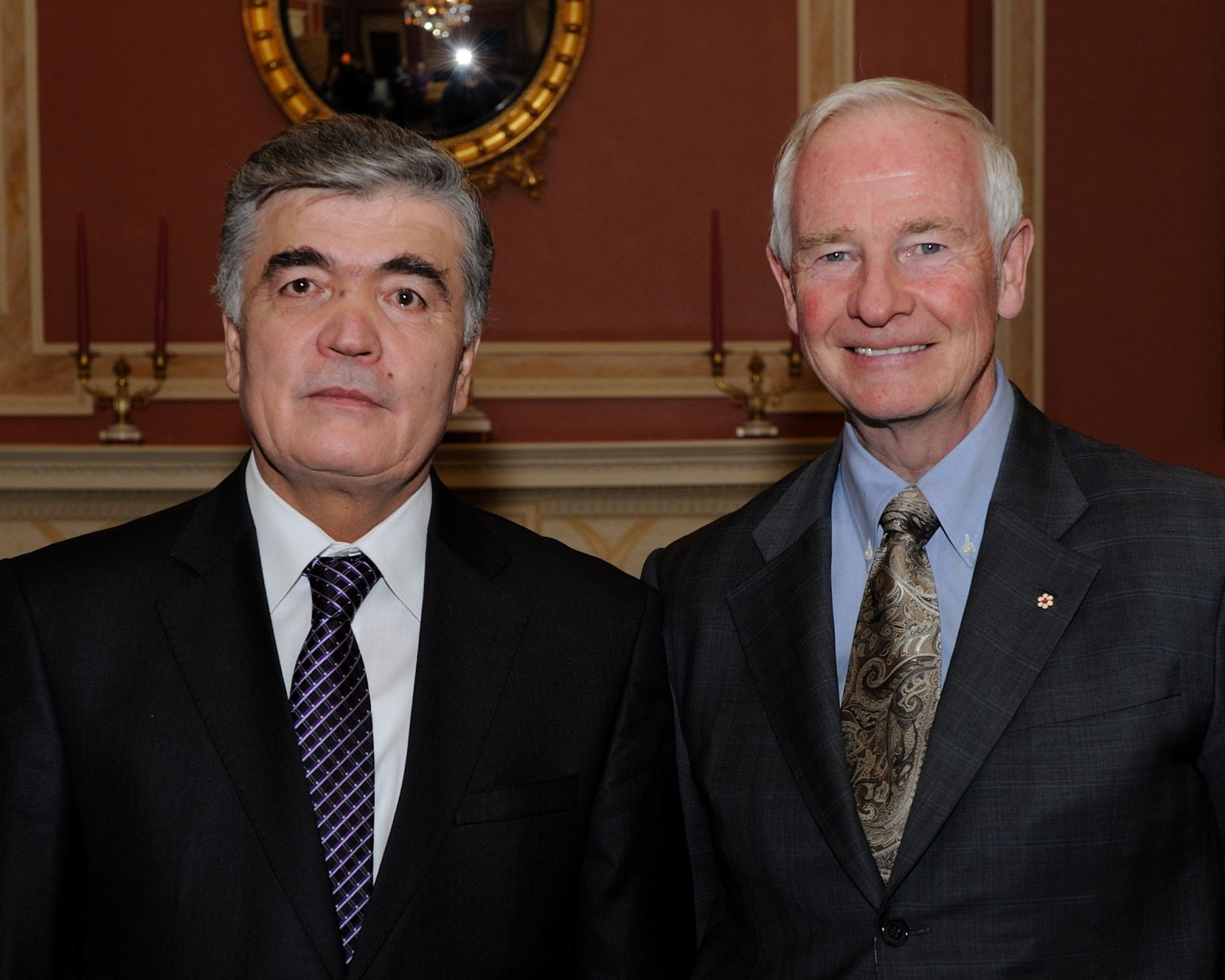 The Governor General received the credentials of His Excellency Ilhomjon Nematov, Ambassador of the Republic of Uzbekistan.