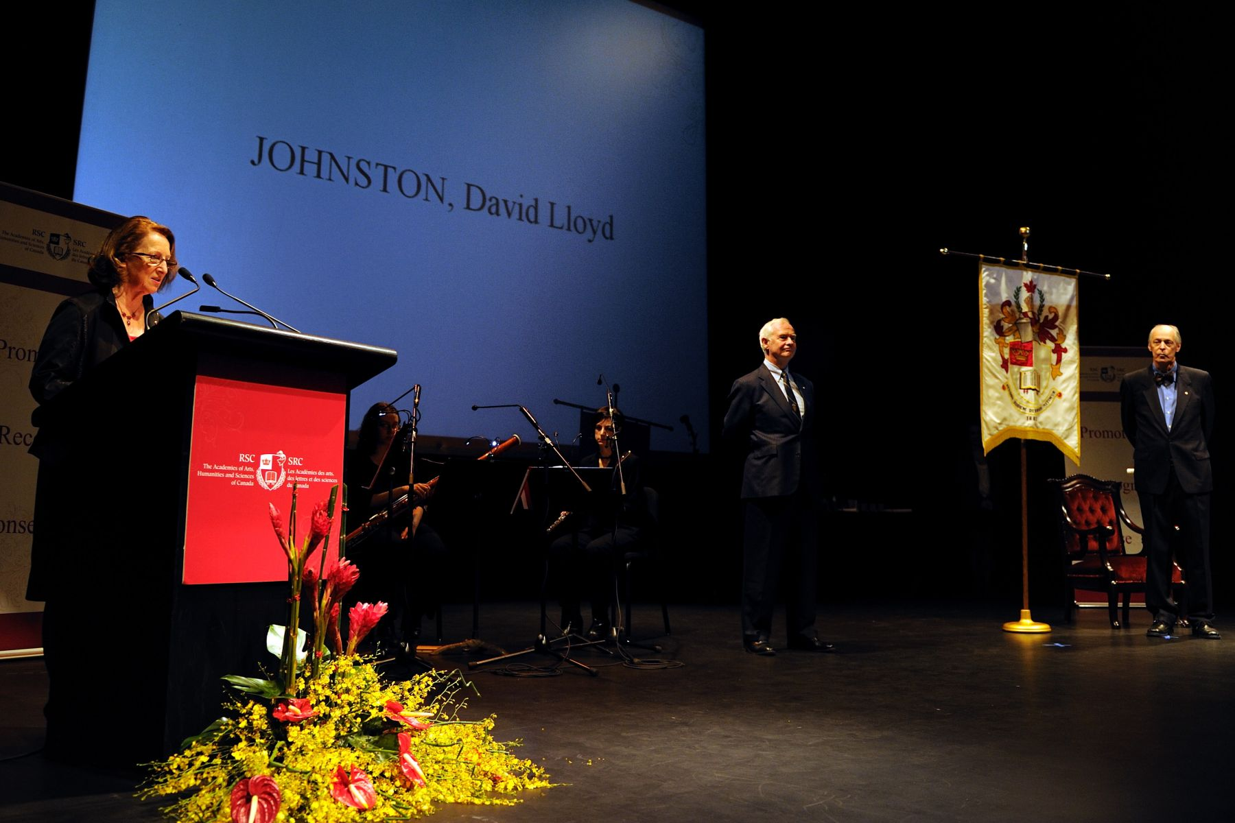 His Excellency the Right Honourable David Johnston, Governor General of Canada, was inducted as Honorary Fellow of the Royal Society of Canada (RSC) during the annual Induction and Awards ceremony which was held at the National Gallery of Canada, in Ottawa.