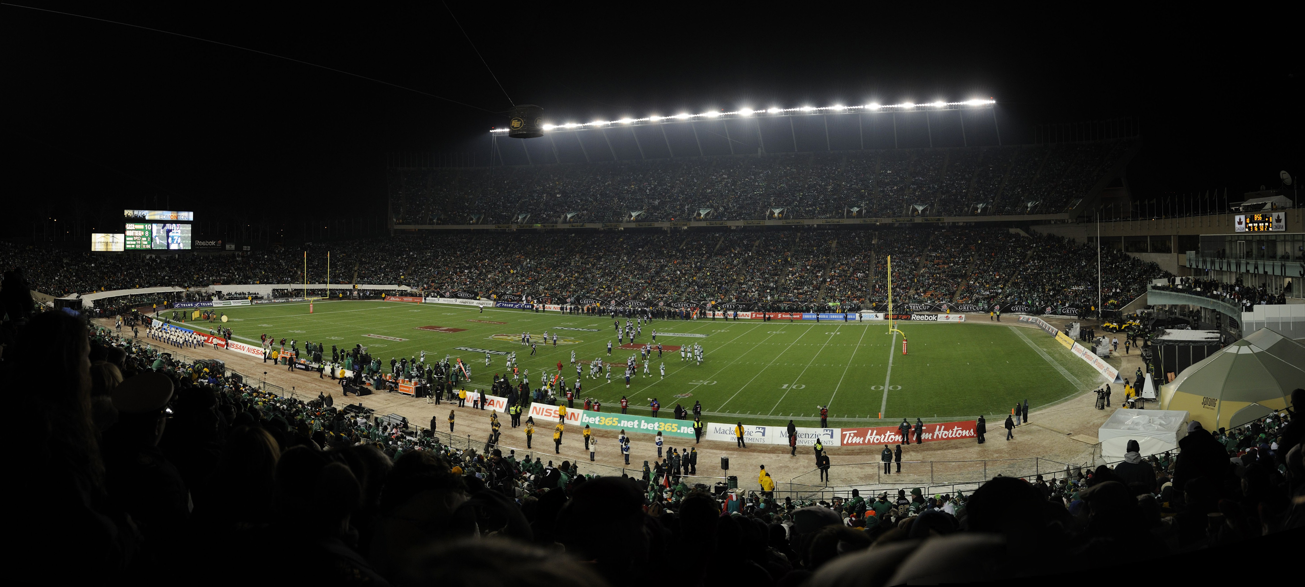 The 98th Grey Cup Championship was held at the Commonwealth Stadium in Edmonton, Alberta on Saturday, November 28, 2010.