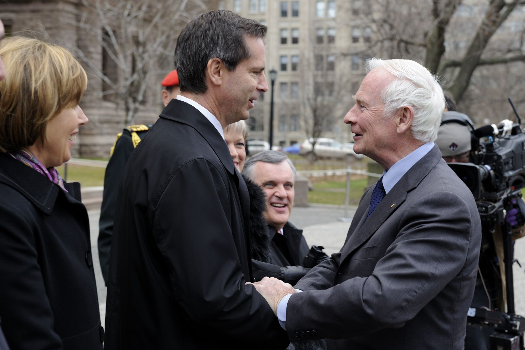 The Honourable Dalton McGuinty, Premier of Ontario was also on hand to welcome the Governor General.