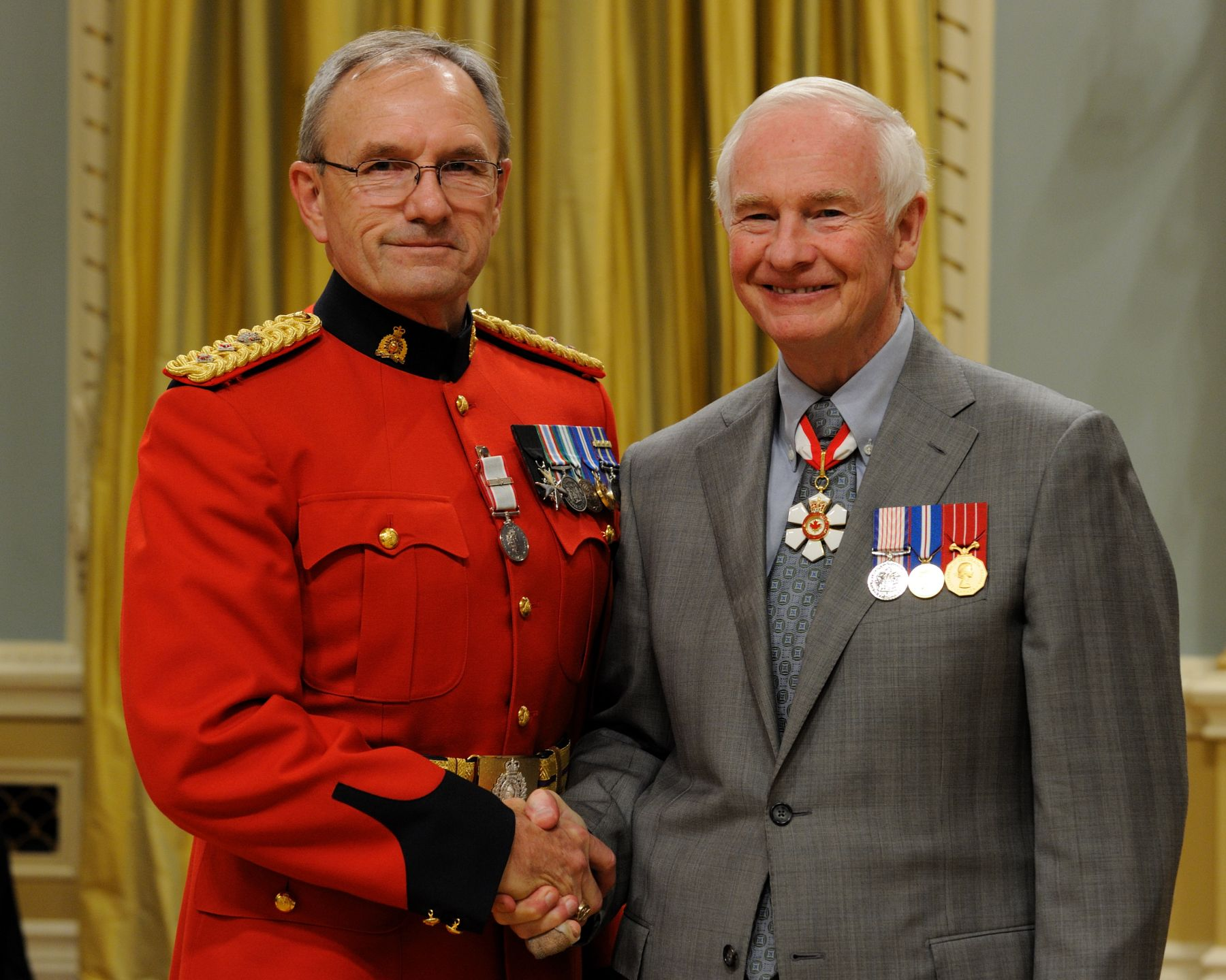 RCMP Superintendent David Charles Beer received the Operational Service Medal with EXPEDITION ribbon.
