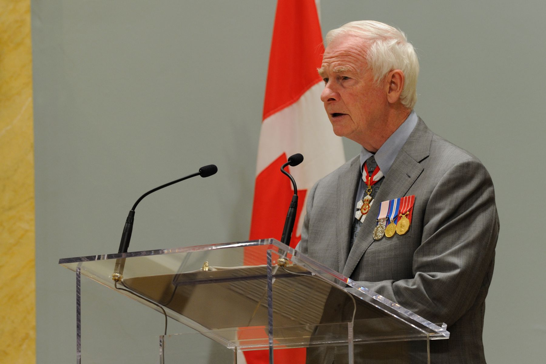 """The creation of this medal came from wanting to honour those men and women of the Canadian Forces and Canadian police forces, as well as civilians who work with these two groups, who have supported non-combat missions around the world. Anytime Canada is called upon to serve abroad, we have done so with the support of an amazing array of talented and selfless people."""
