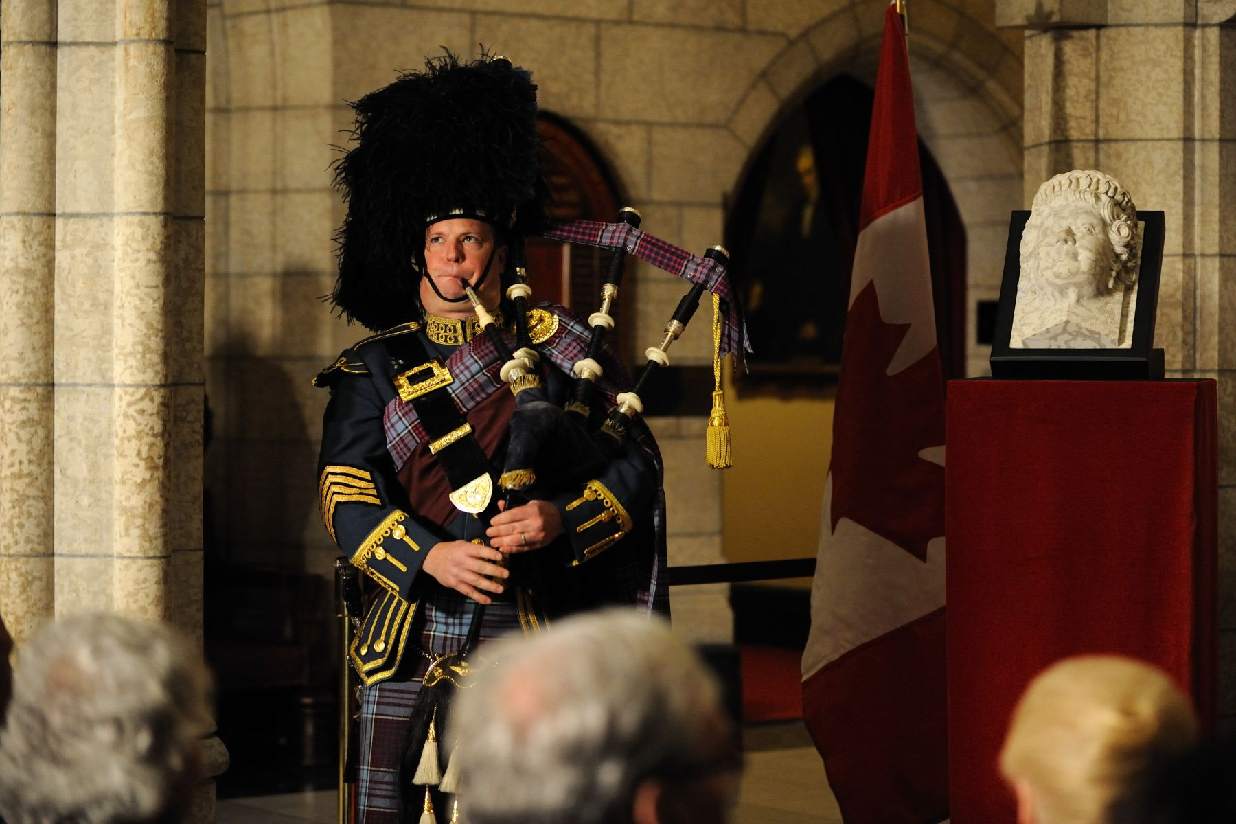 The Maple Crown was played by Pipe Major Tom Brown