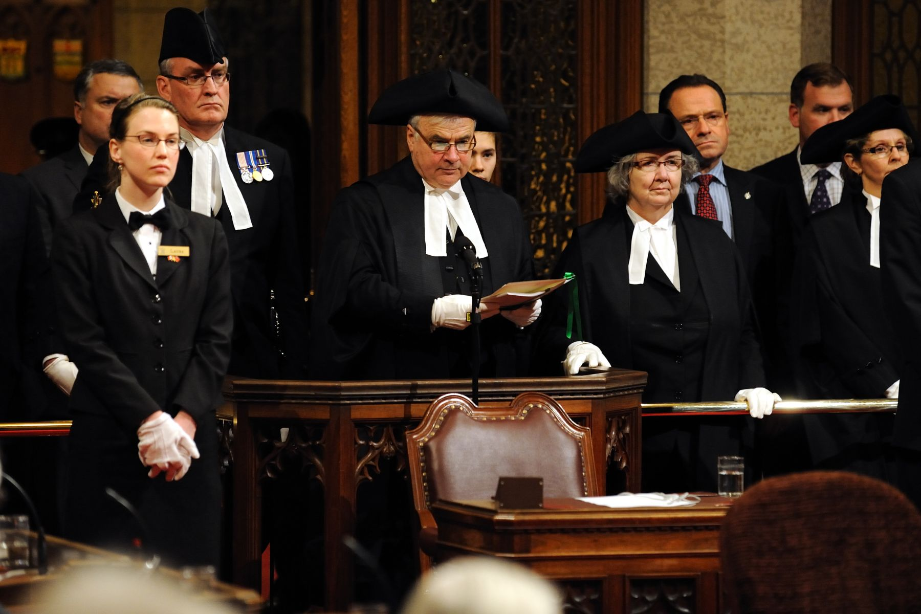 Since the Royal Assent Act of 2002, it may be signified by a written declaration by the governor general or by a deputy of the governor general (one of the justices of the Supreme Court).
