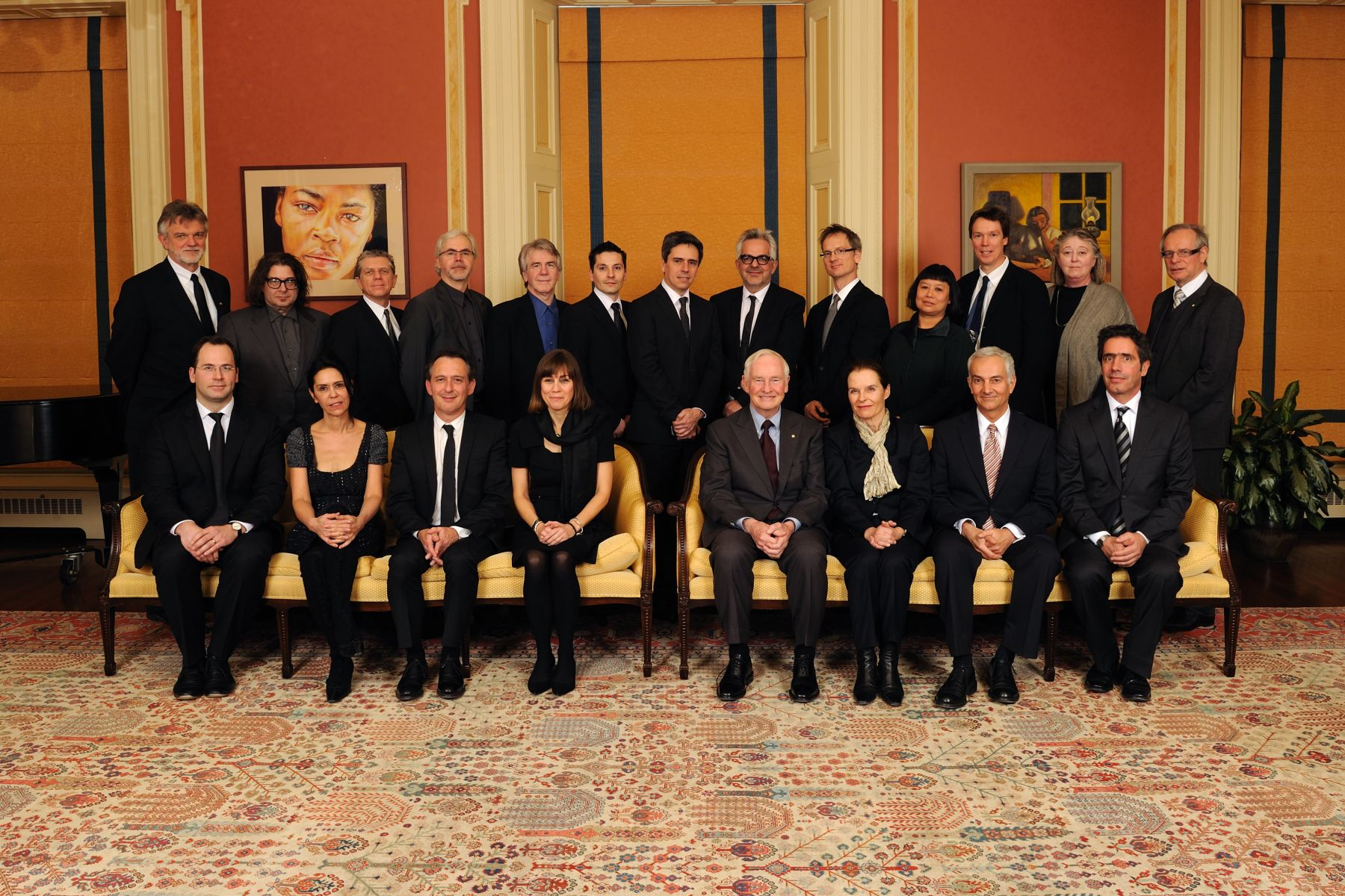 His Excellency honoured the laureates of the 2010 Governor General's Medals in Architecture during a ceremony at Rideau Hall.