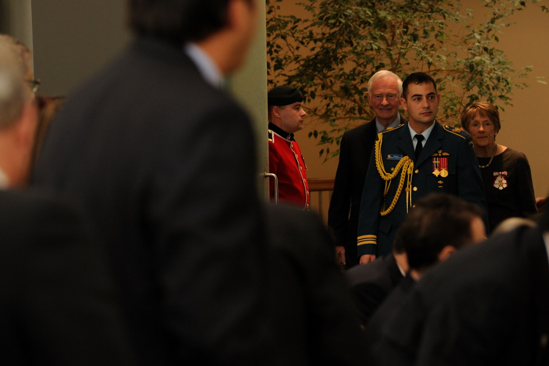 In the afternoon of February 8, 2011, the Governor General presented two Stars of Courage and 9 Medals of Bravery, in his first Decorations for Bravery ceremony at the Citadelle of Quebec.