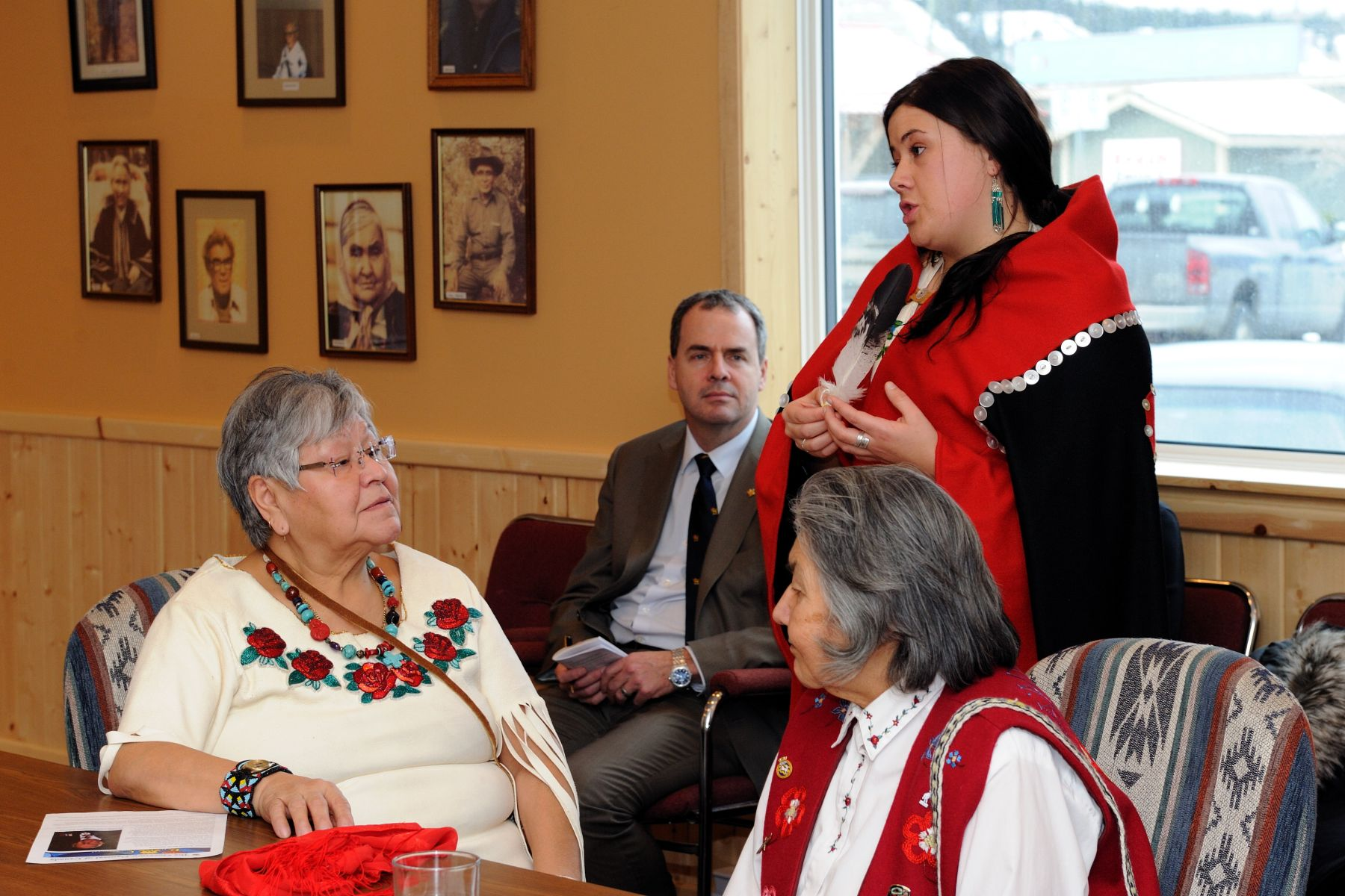 The meeting was held at the offices of the Council of Yukon First Nations, in Whitehorse.