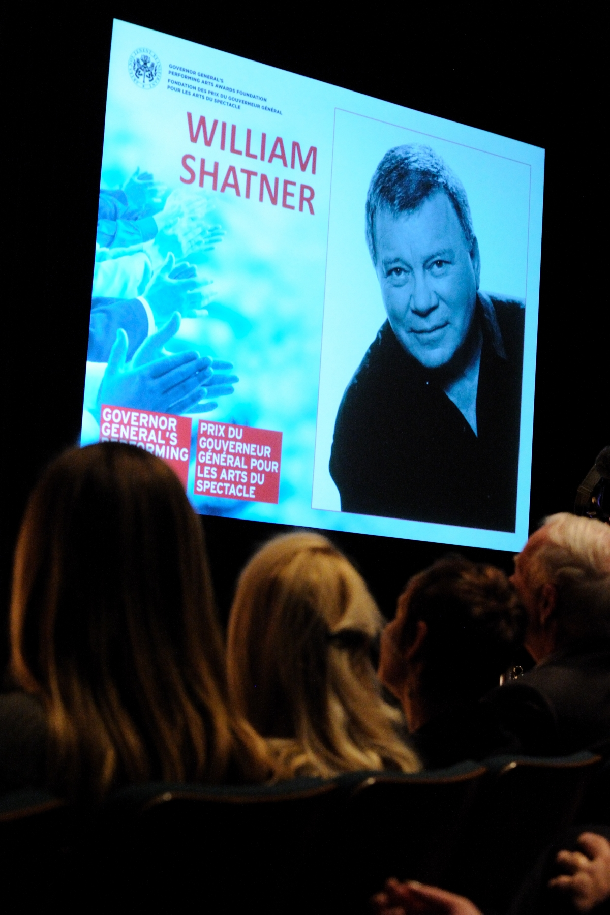 Mr. William Shatner was also named as laureate of the 2011 Governor General Performing Arts Awards for Lifetime Artistic Achievement. In a wide-ranging career spanning six decades, Mr. Shatner is an award-winning actor, accomplished director, best-selling author, and dedicated philanthropist and environmentalist whose compassion, creativity, and irrepressible sense of humour are integral to his life and work.