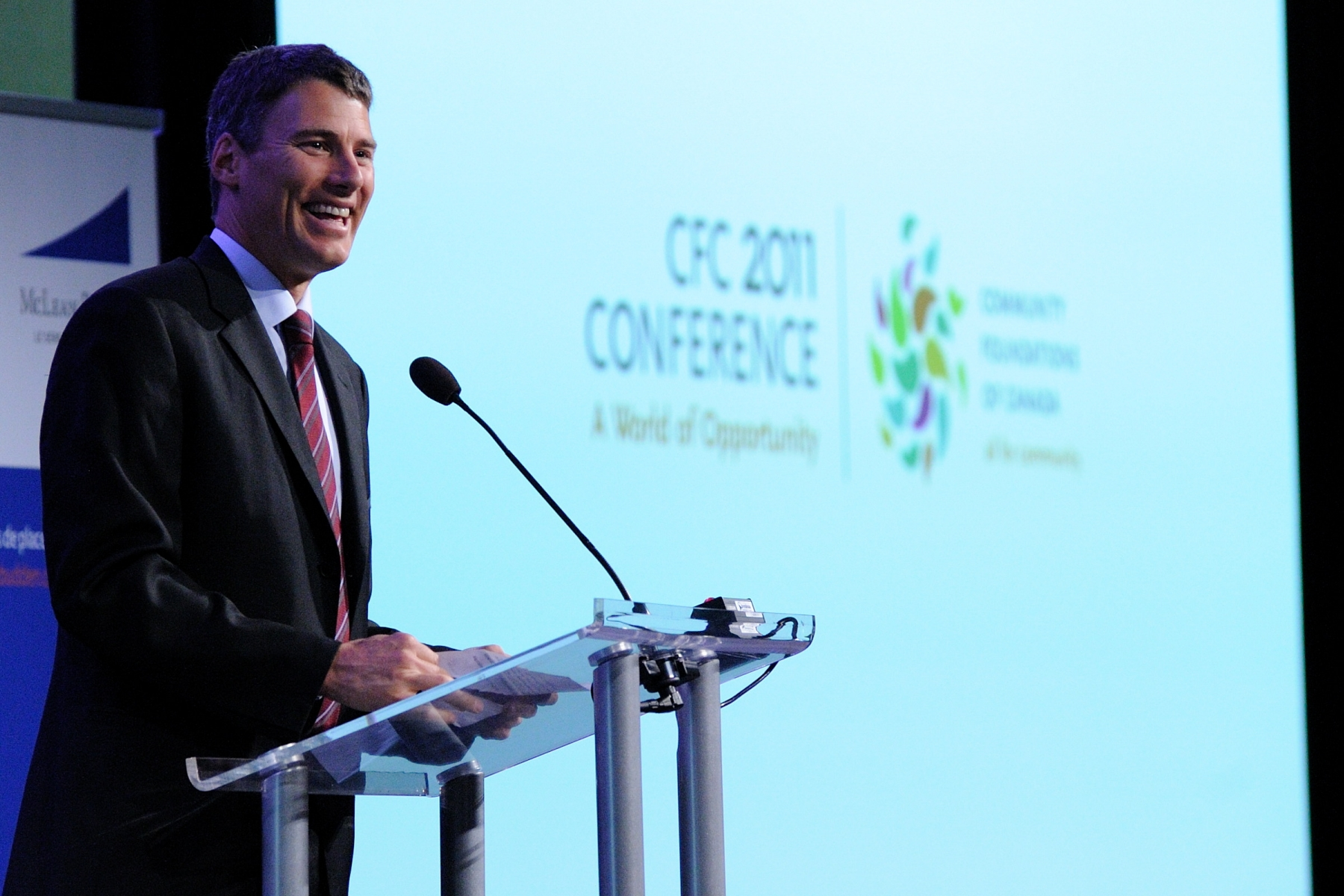 His Worship Gregor Robertson, Mayor of Vancouver, offered remarks. This international gathering of members of the philanthropic sector is held every two years.