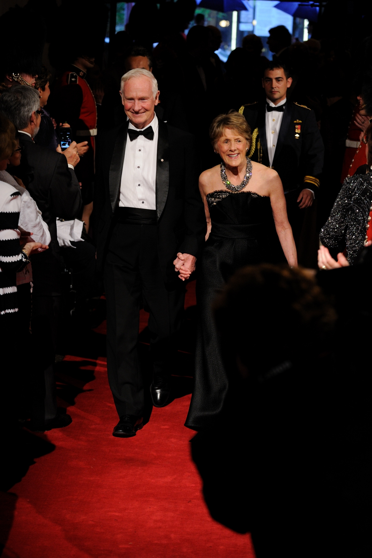 Their Excellencies arrived on the red carpet at the 2011 Governor General's Performing Arts Awards Gala at the National Arts Centre on Saturday, May 14, 2011.