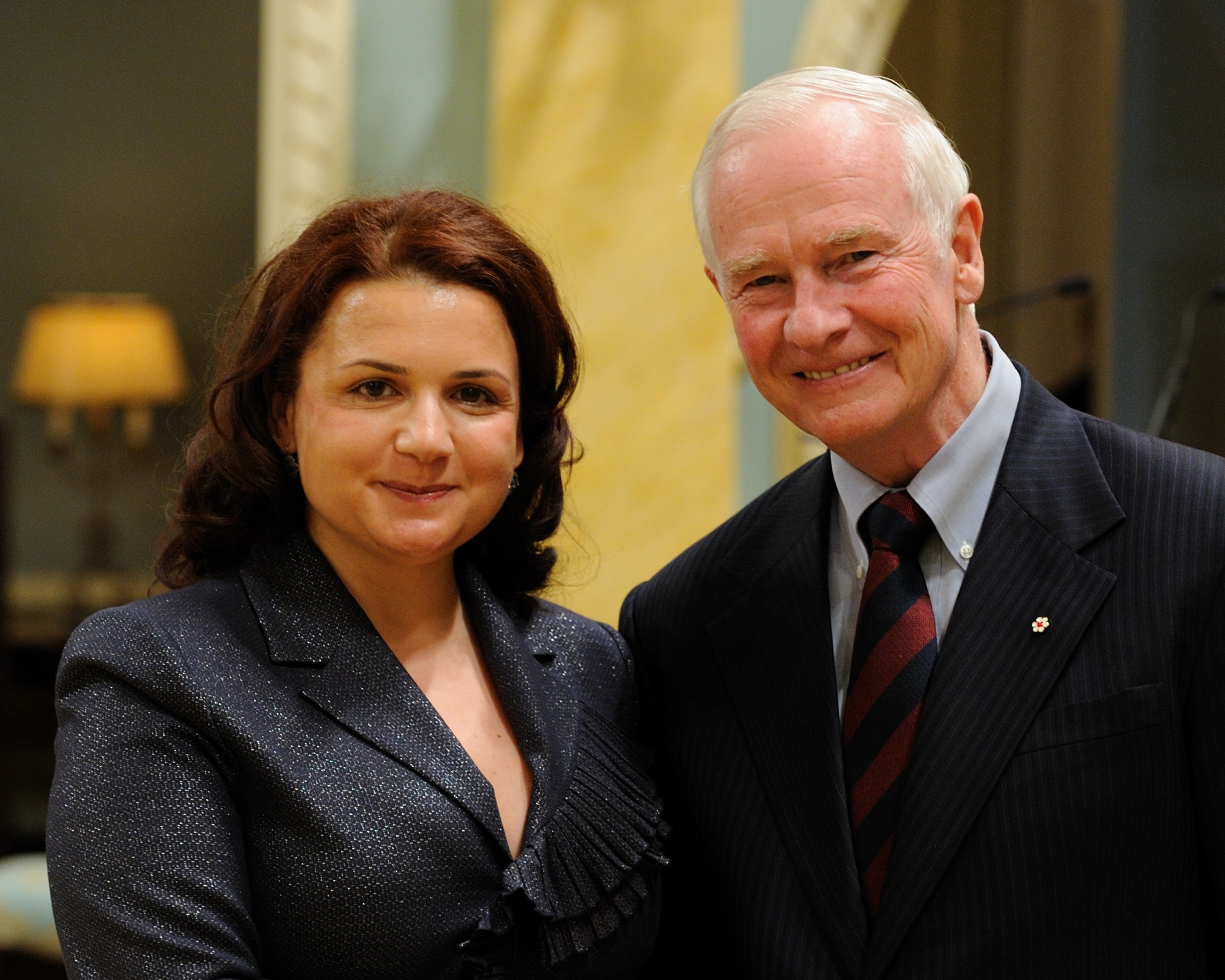 The Governor General received the credentials of Her Excellency Elida Petoshati, Ambassador of the Republic of Albania.