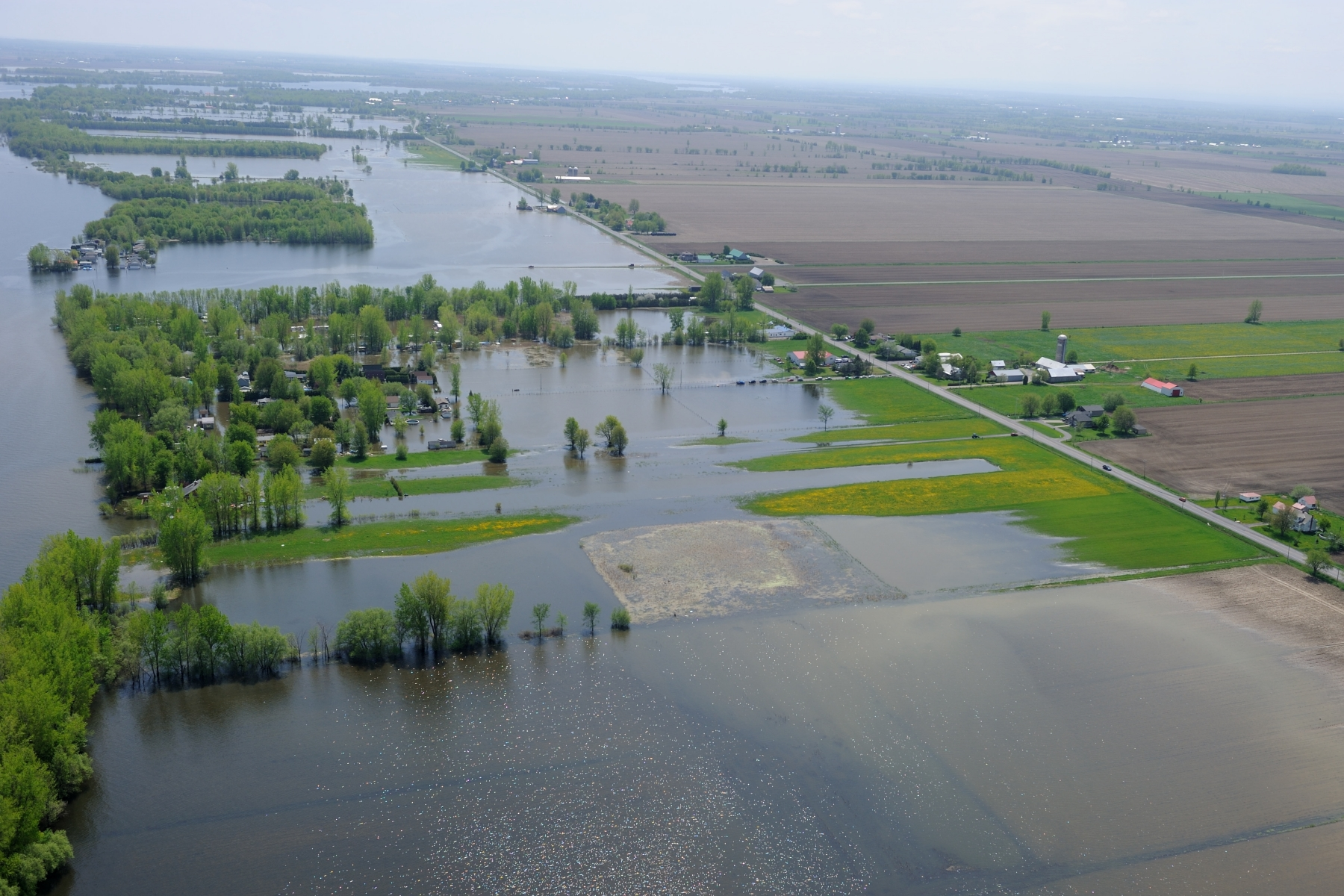 Since the end of April, the Montérégie region has been affected by floods.
