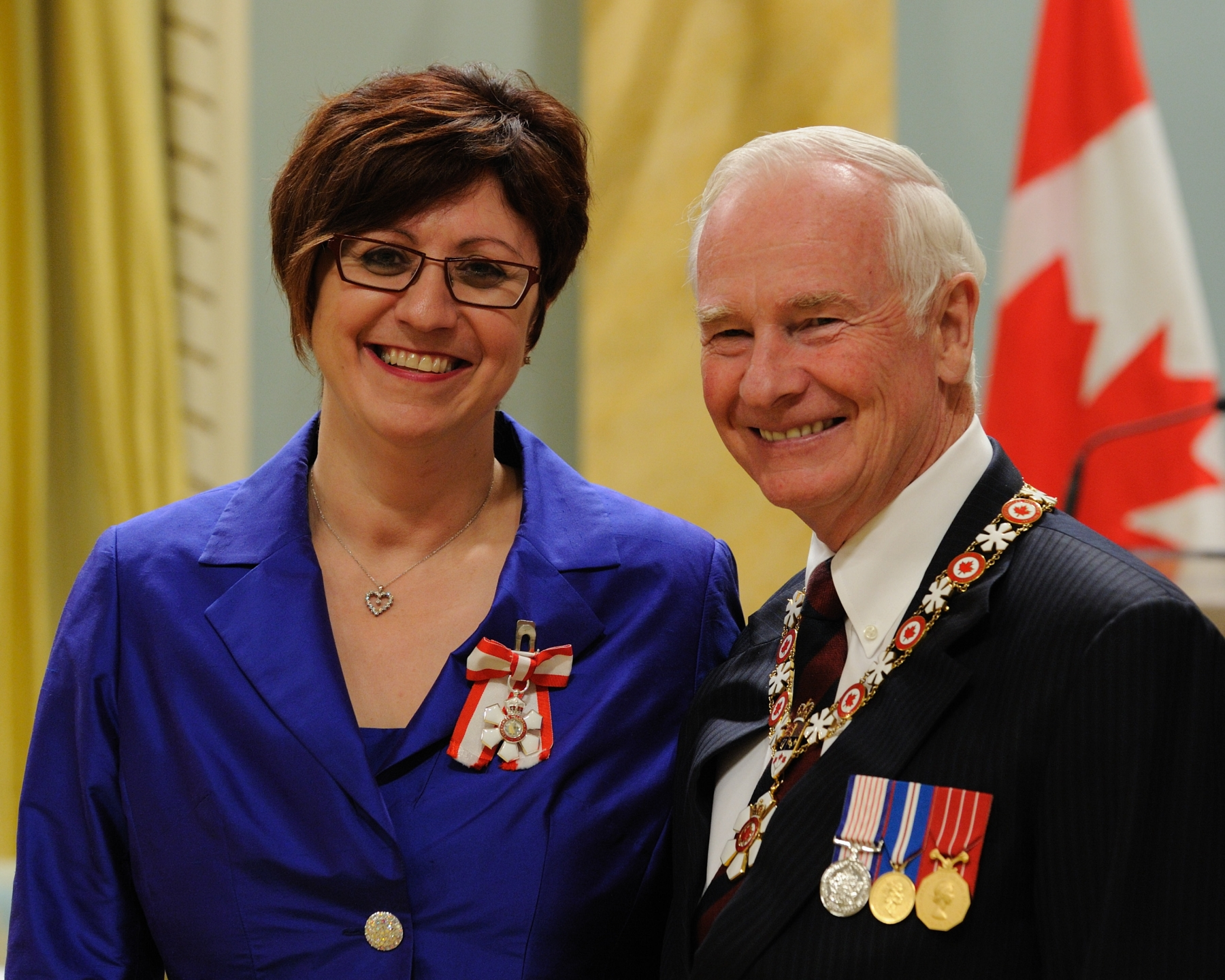Mary Jo Haddad (Oakvile, Ontario) is a passionate advocate for children's health care. Formerly a neonatal nurse and now president and chief executive officer of Toronto's Hospital for Sick Children (SickKids), she has played a leadership role in building a system of pediatric health care in Ontario through collaboration and innovation. Her focus on family-centered care has empowered children and their families to be important partners in health care delivery. She has also played a pivotal role in enhancing pediatric health care by sharing SickKids' expertise and best practices with hospitals around the world. In addition, her leadership has benefited such organizations as the Provincial Council for Maternal and Child Health, and the Canadian Association of Pediatric Health Centres.