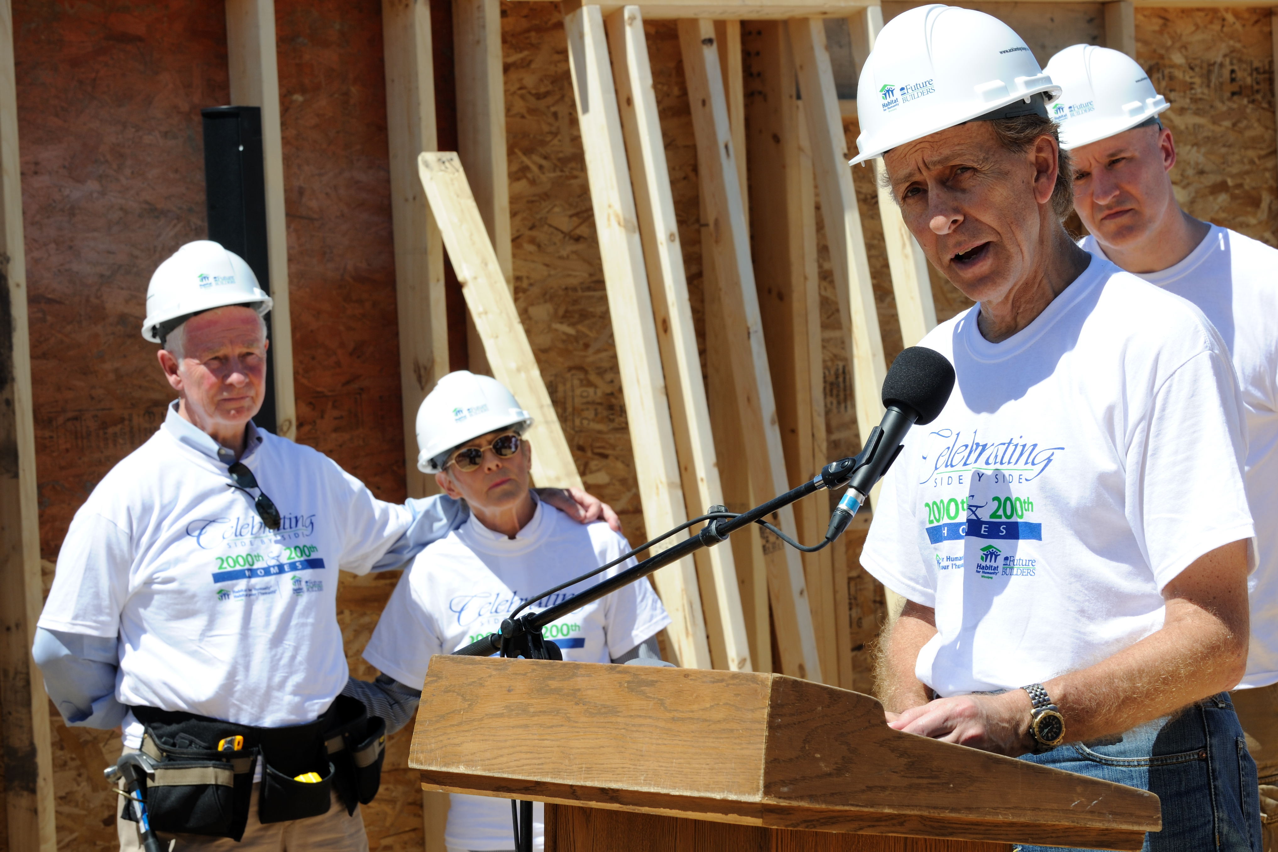 Habitat for Humanity is a non-profit organization working for a world where everyone has a safe and decent place to live. The mission of the organization is to mobilize volunteers and community partners in building affordable housing and promoting homeownership as a means to breaking the cycle of poverty.