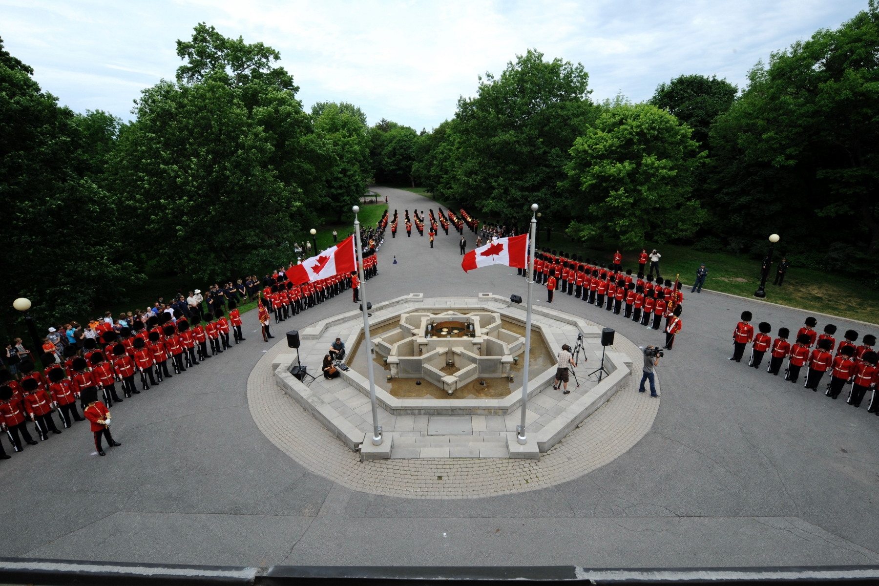 The Ceremonial Guard performs a variety of public duties in Ottawa between late June and the end of August.
