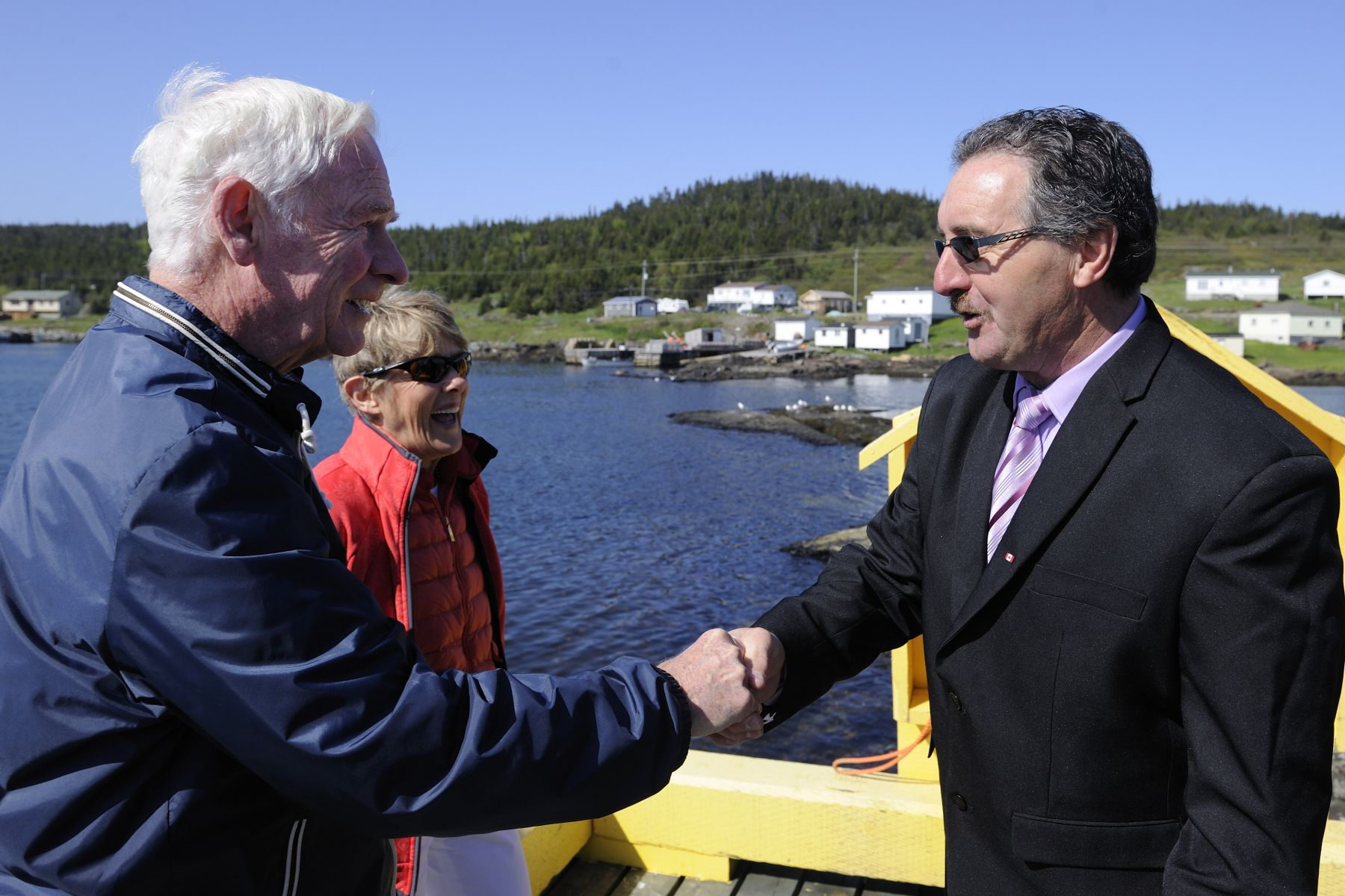 Their Excellencies were hosted by His Worship Gerard Foley, Mayor of the Town of Fogo Island.