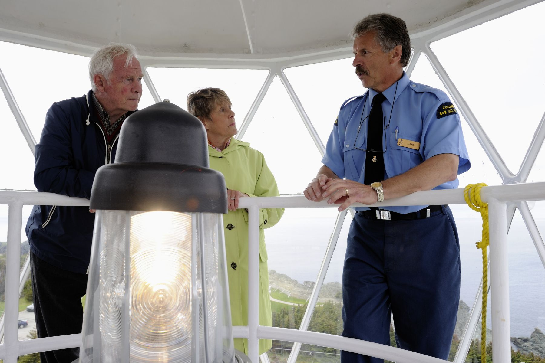 Their Excellencies then headed to the Long Point Lighthouse, which was built more than 300 feet above the Atlantic Ocean sea level and is operated by the Canadian Coast Guard.