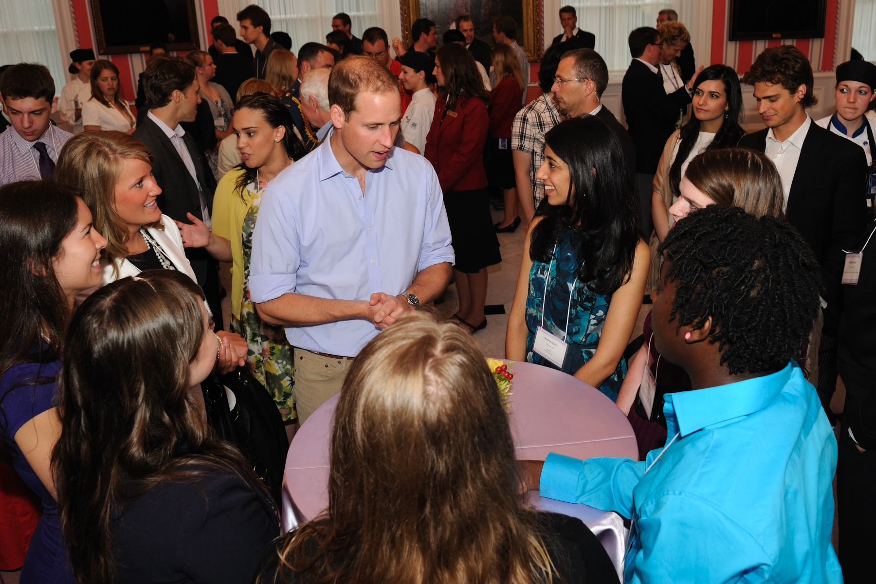 "This event also allowed these young Canadians to meet a member of the Royal family who has already identified ""service to others"" as a pivotal focus."