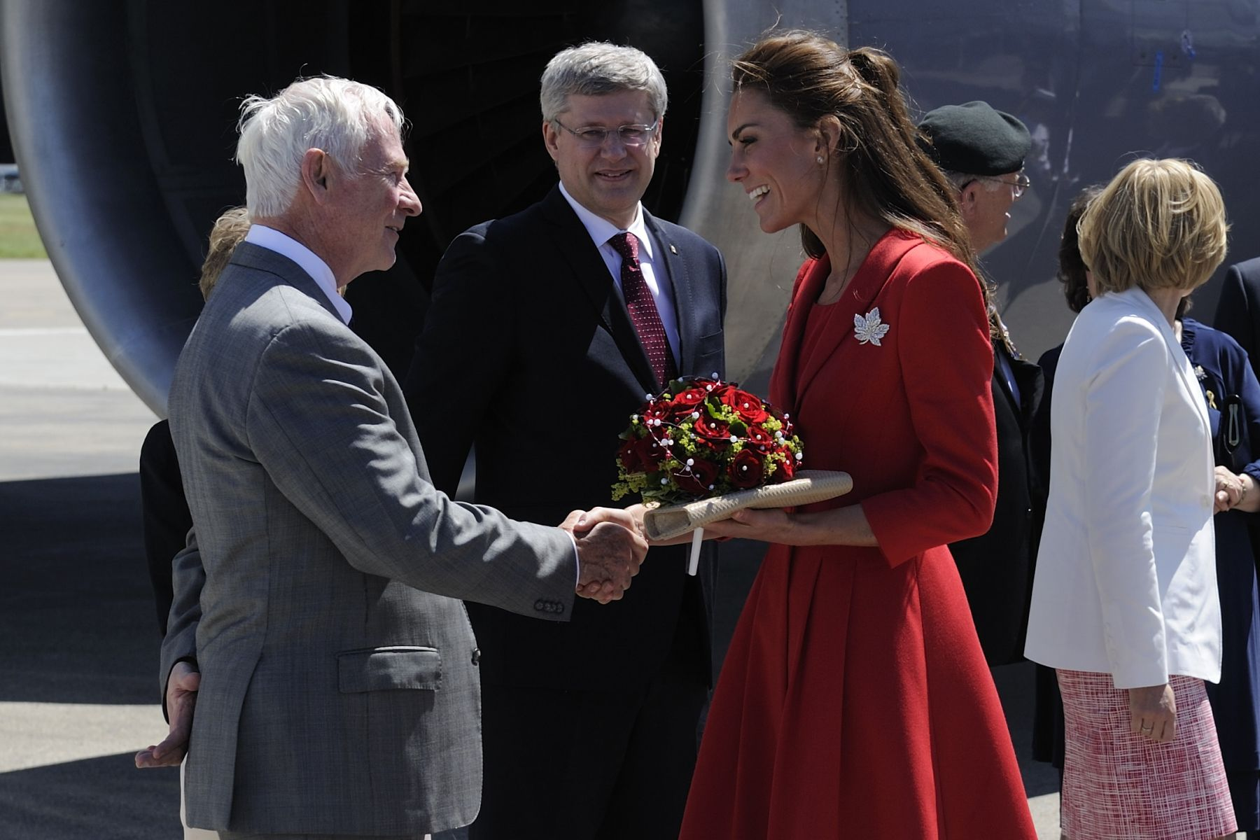 The Duke and Duchess of Cambridge debuted their Royal Tour of Canada on June 30 with an Official Welcoming Ceremony and a Celebration of Youth Reception at Rideau Hall. Their stay in Canada's Capital Region concluded on July 2 with a tree planting ceremony on the Rideau Hall grounds in the presence of Their Excellencies.