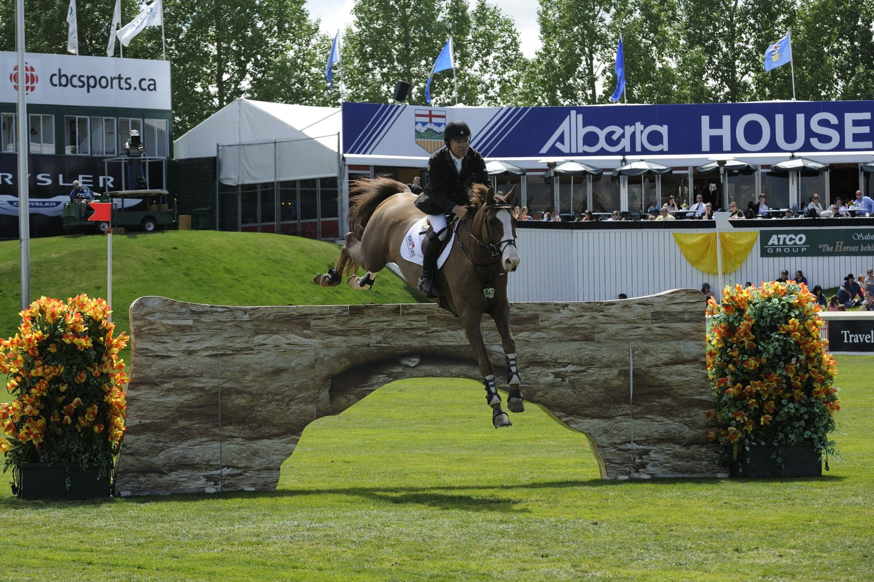 It focusses on the organization and hosting of show jumping tournaments of unmatched quality for junior, amateur and professional athletes, in a manner that reflects basic family values in a clean, green and welcoming environment that celebrates the horse and encourages the breeding and training of quality sport horses and the teaching and development of athletes.