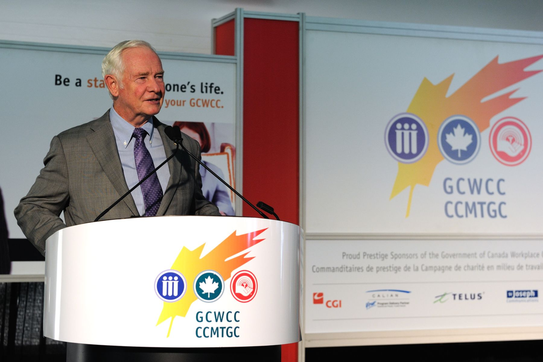 As patron of United Way Canada, His Excellency the Right Honourable David Johnston, Governor General of Canada, attended the launch of the 2011 Government of Canada Workplace Charitable Campaign (GCWCC), held on the grounds of Rideau Hall.