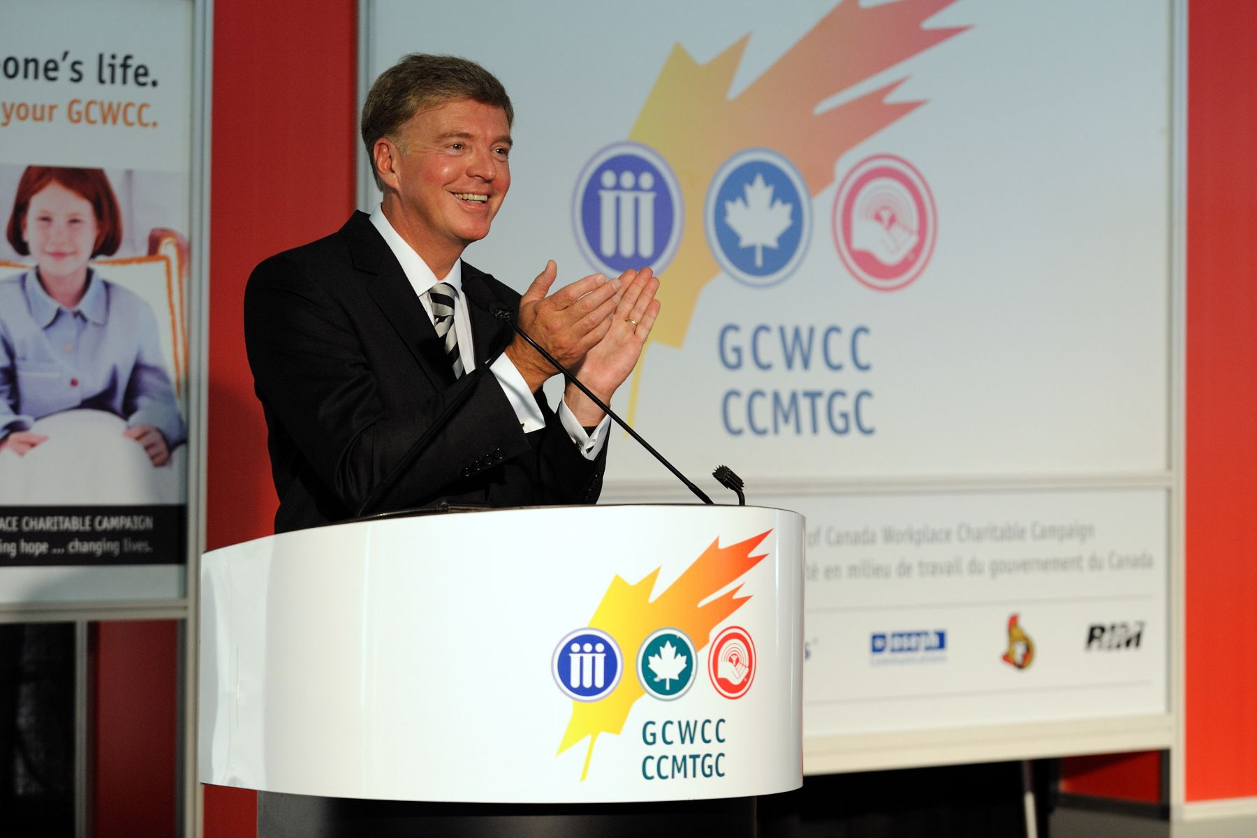 Mr. François Guimont, Deputy Minister of Public Works and Government Services and the 2011 National Government of Canada Workplace Charitable Campaign (GCWCC) Chair, also provided remarks.