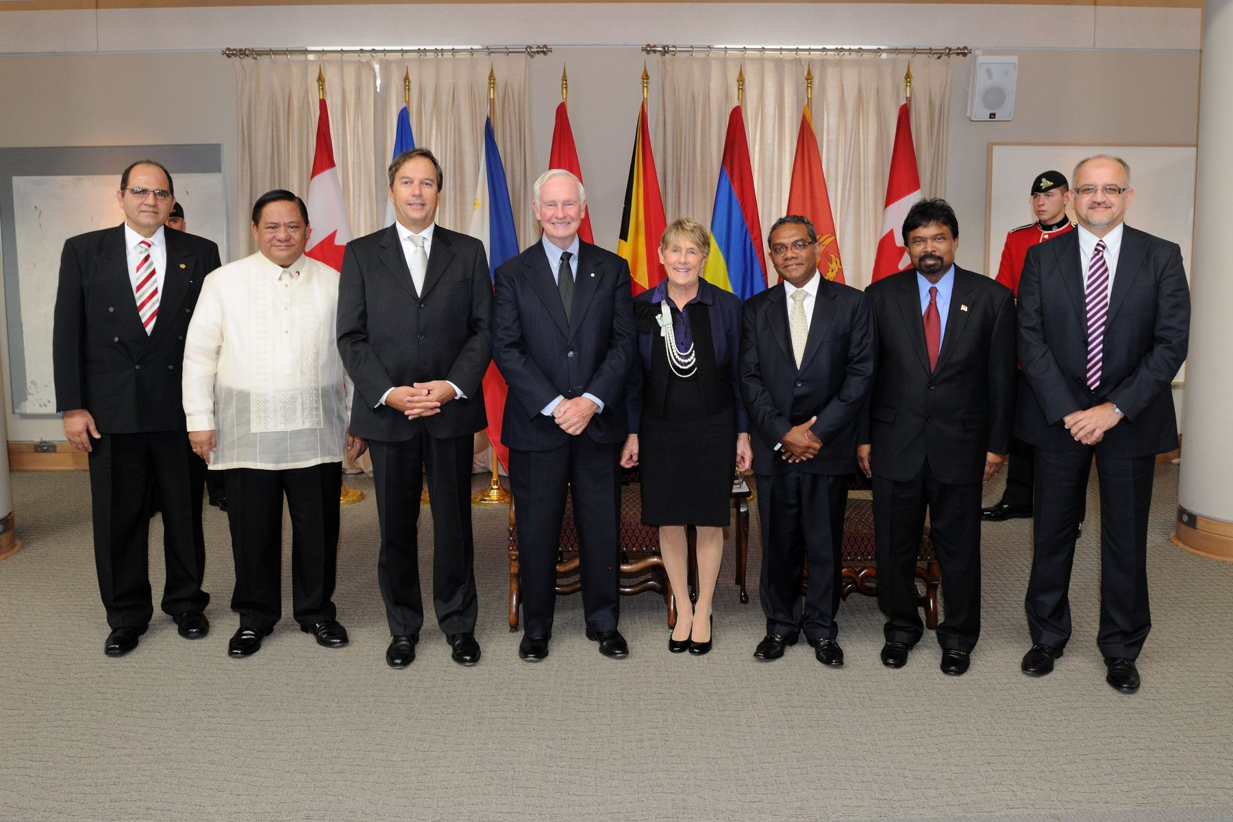Representatives from El Salvador, Philippines, Swiss Confederation,