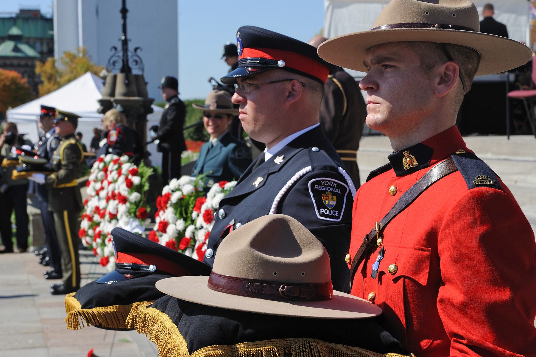 On September 24, 1998, the Government of Canada officially proclaimed the last Sunday of every September as the annual Canadian Police and Peace Officers' National Memorial Day.
