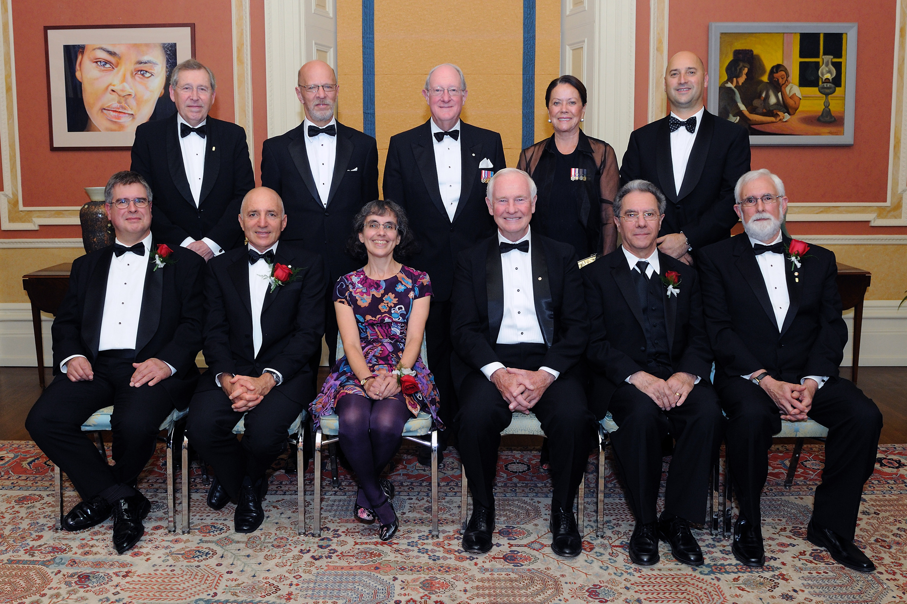 His Excellency the Right Honourable David Johnston, Governor General of Canada, presented the 2011 Killam Prizes to five eminent Canadians during a ceremony at Rideau Hall.