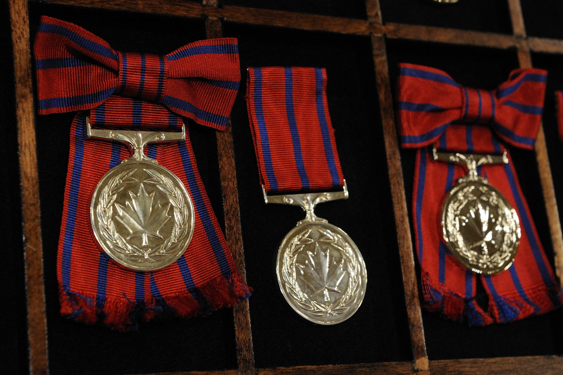 The Governor General presented two Stars of Courage and 42 Medals of Bravery during a ceremony at Rideau Hall, on October 28, 2011.