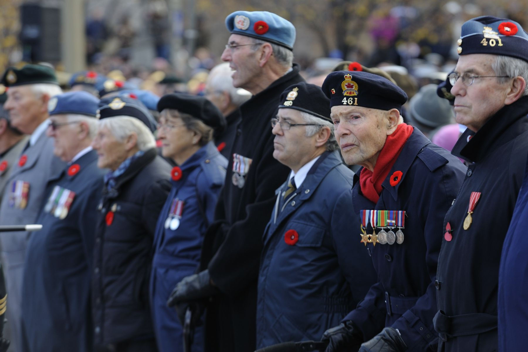 Each year on November 11, Canadians participate in the National Remembrance Day Ceremony at the National War Memorial, in Ottawa, to pay homage to those who have served their country.