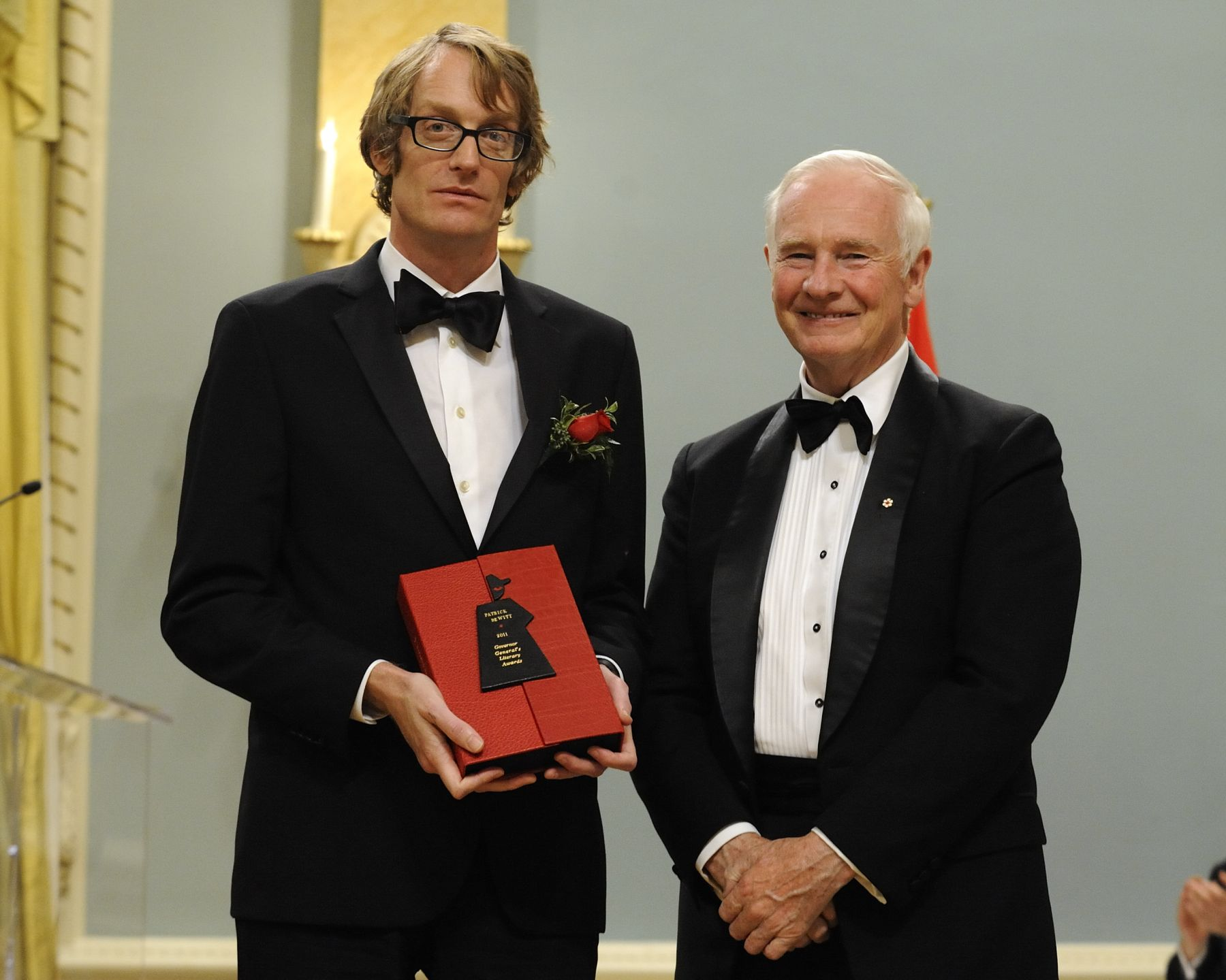 "Patrick deWitt is the 2011 laureate of the Governor General's Literary Awards in the Fiction category (English language) for his book ""The Sisters Brothers""."