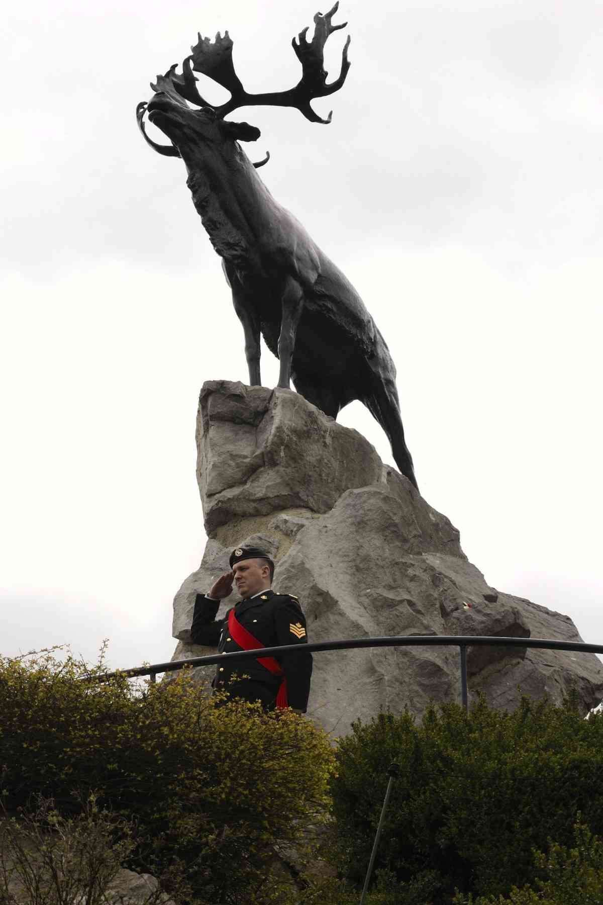 The Beaumont-Hamel Memorial commemorates all Newfoundlanders who fought in the Great War, particularly those who have no known grave.