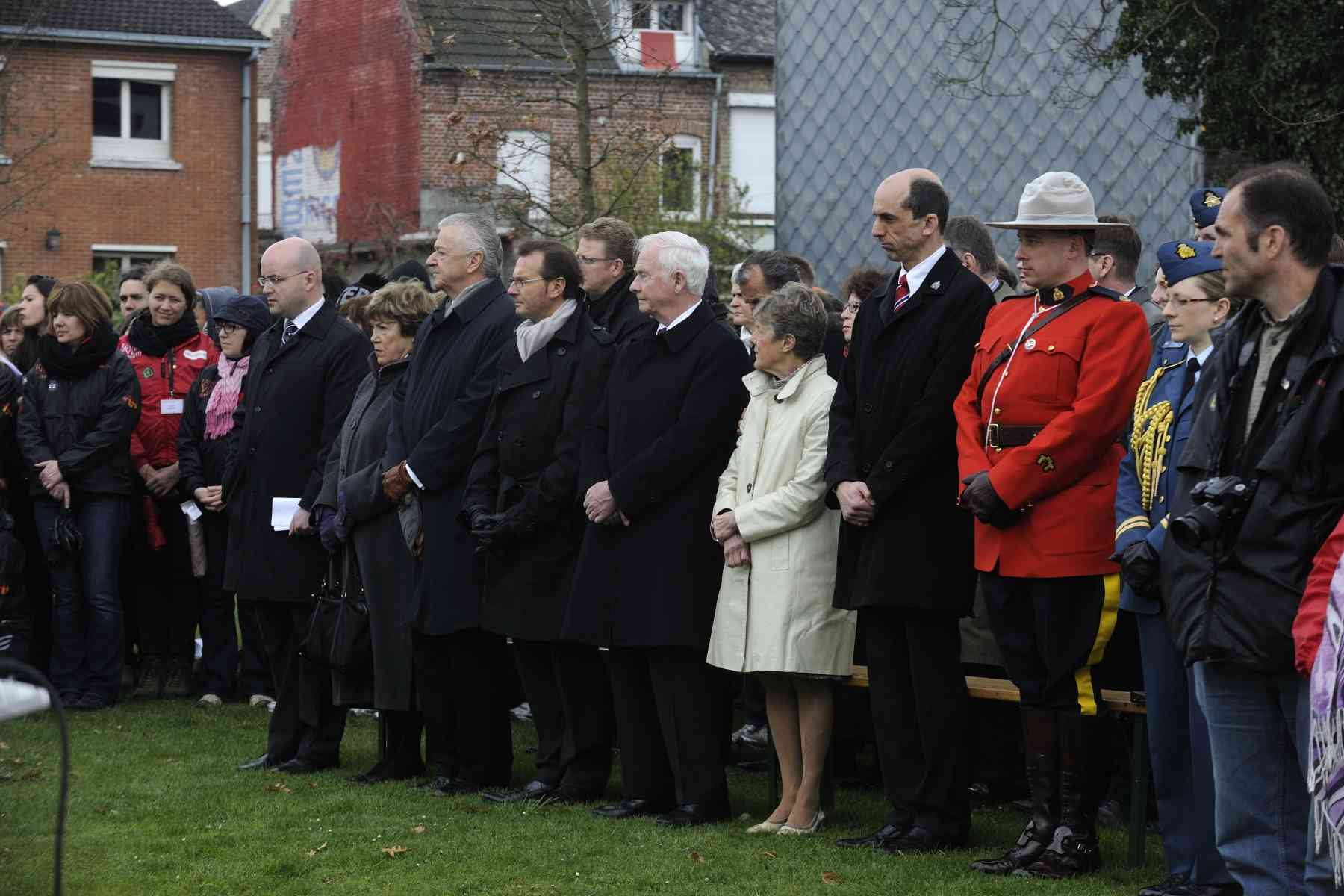 Their Excellencies were joined, among others, by Steven Blaney, Minister of Veterans Affairs.