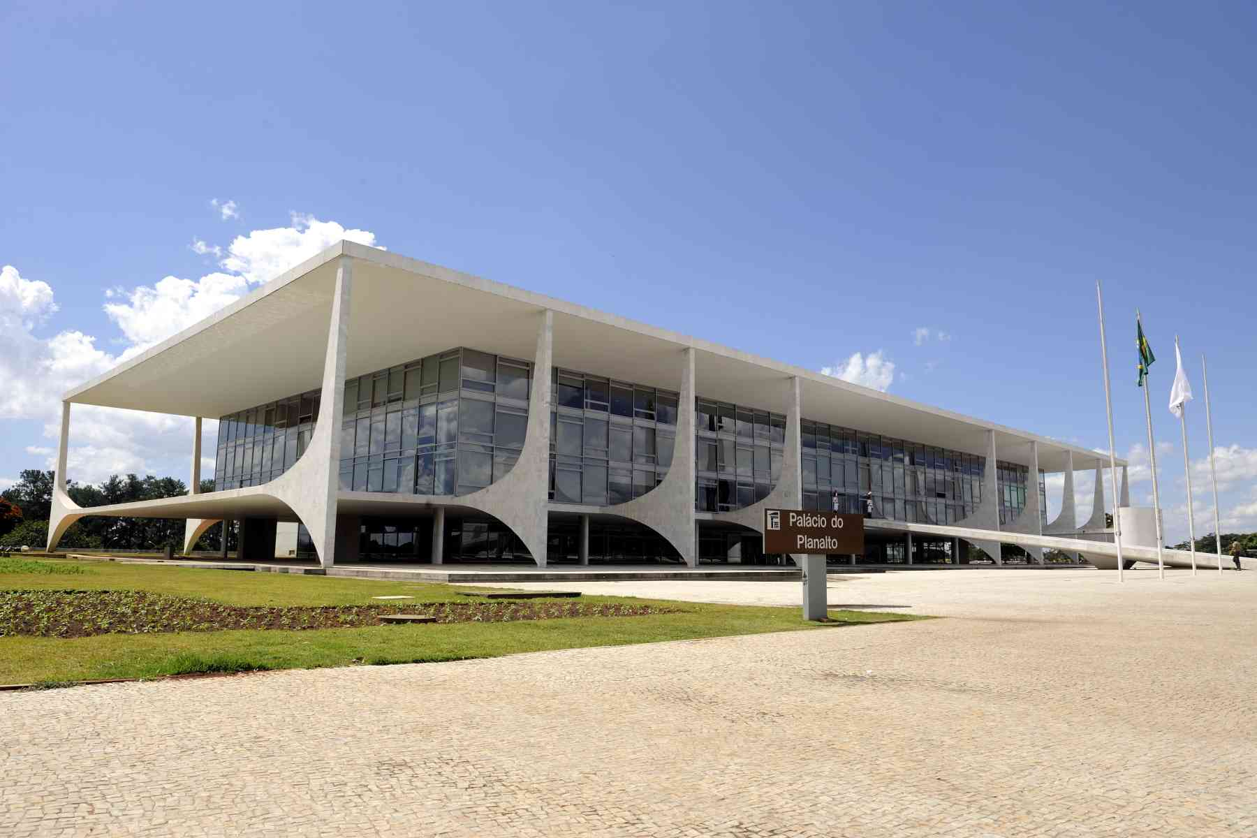 Planalto Palace is the official workplace of the President of Brazil.