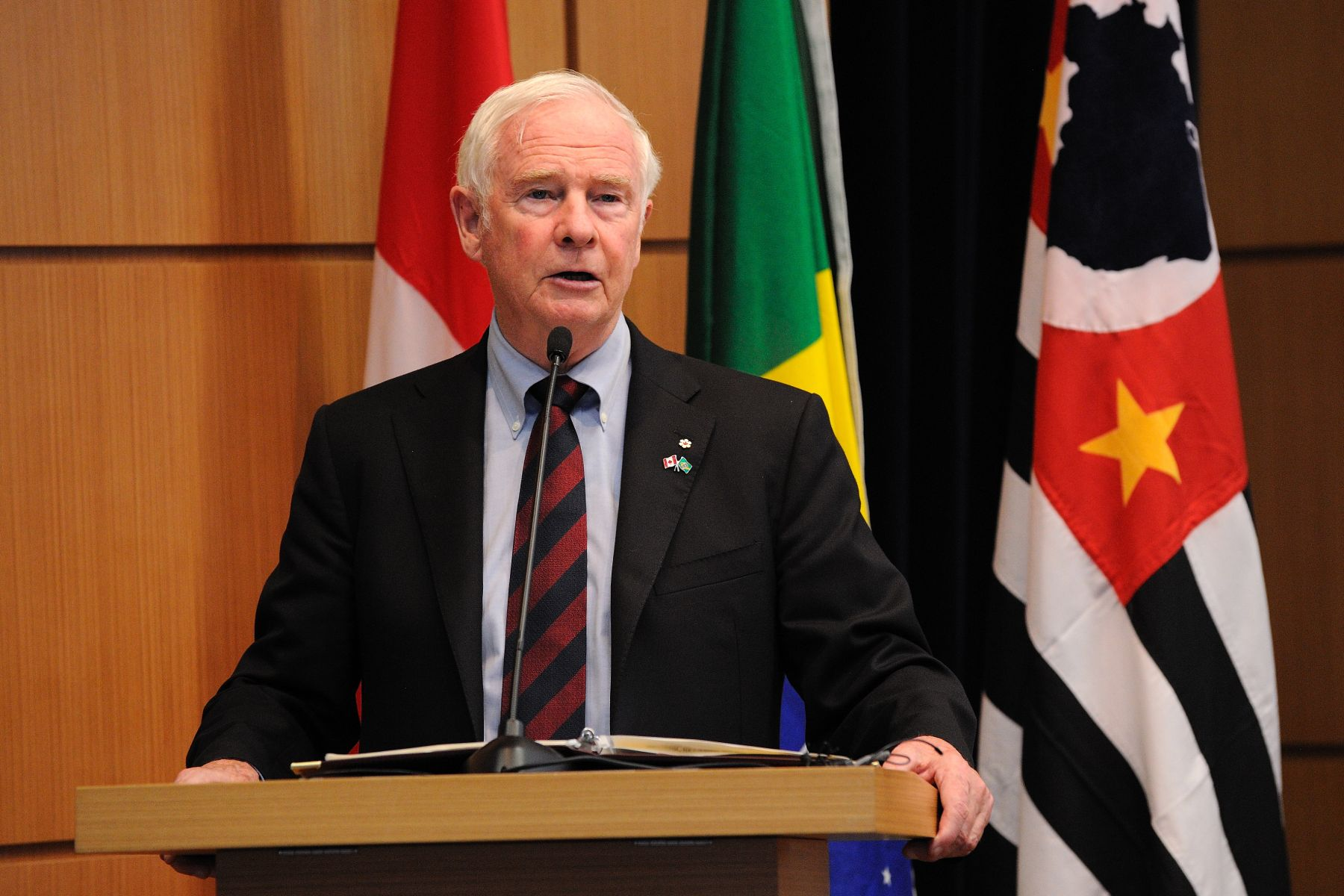 "The Governor General delivered a keynote address on ""Brazil-Canada Partnerships and Enhancing the Innovation Ecosystem"" to researchers, professors, administrators and students at the São Paulo Research Foundation (FAPESP)."
