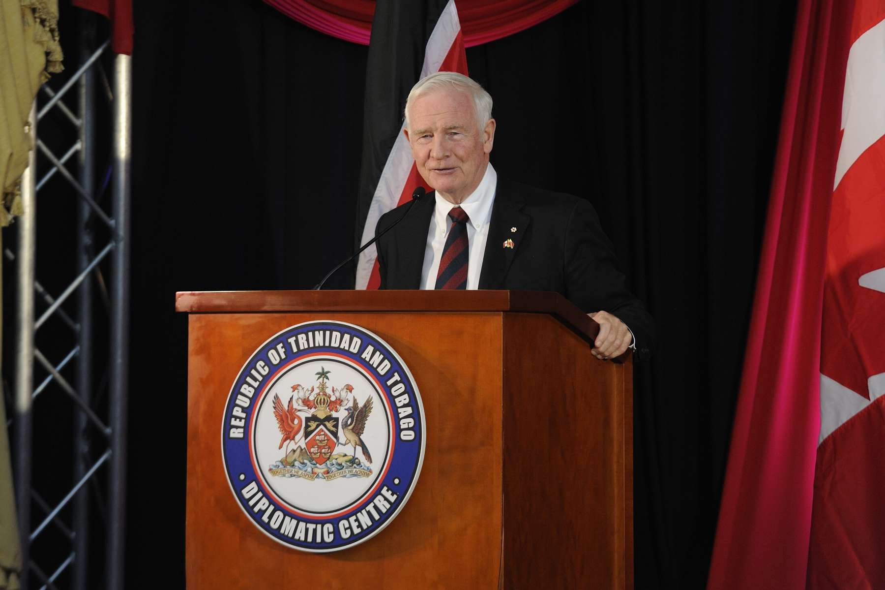The Governor General delivered remarks on this occasion.