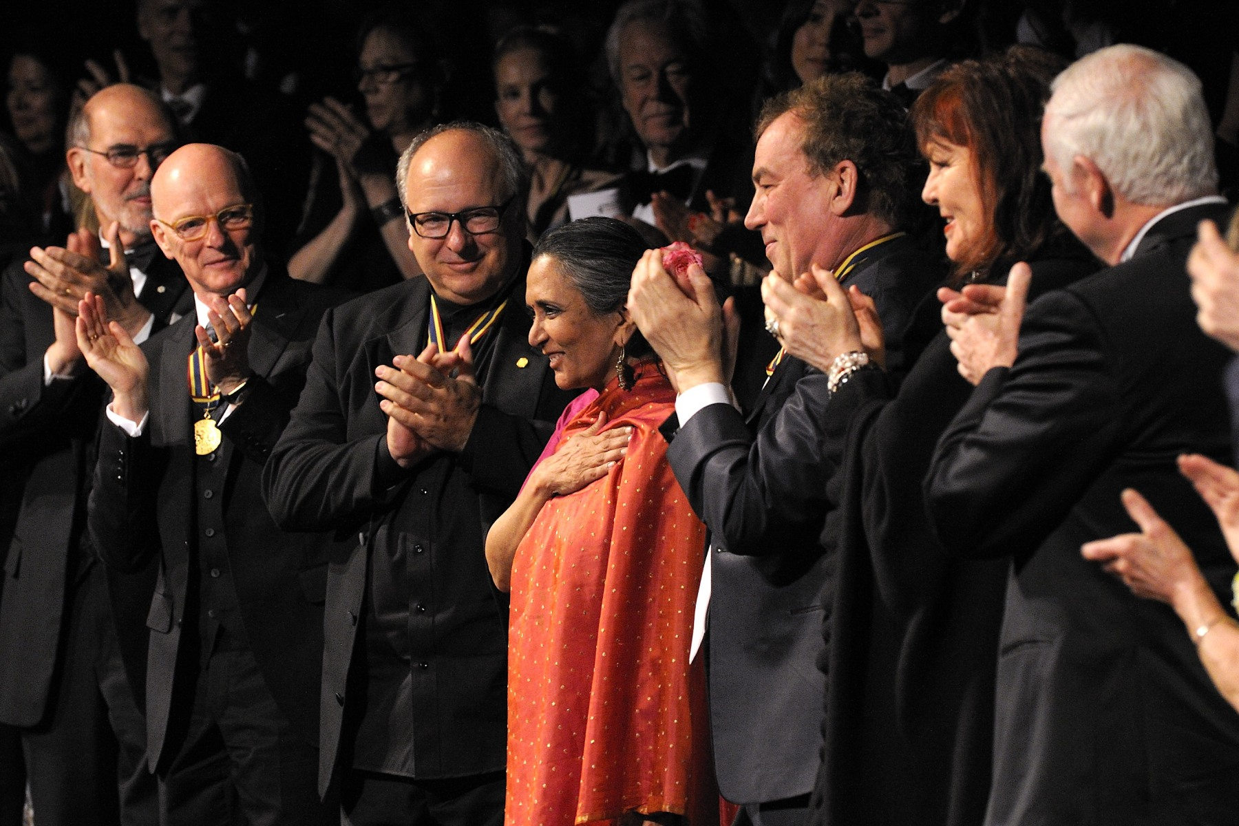 The gala featured outstanding performances, evocative film portraits and personal tributes made by special guests.Deepa Mehta, film director and screenwriter, one of the honoured laureates.