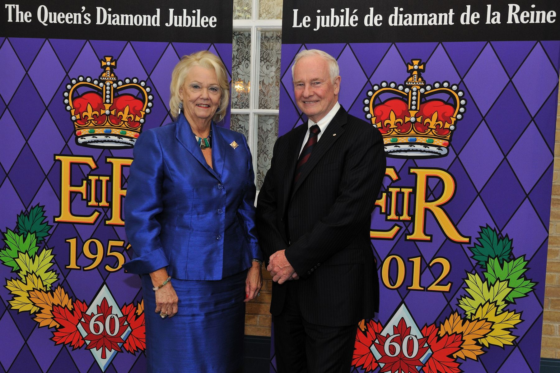 While in Regina to bid farewell to Their Royal Highnesses, the Governor General had the chance to meet with, fort the first time, Her Honour the Honourable Vaughn Solomon Schofield, Lieutenant-Governor of Saskatchewan.