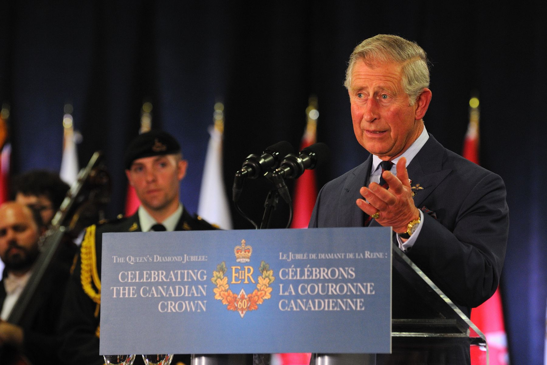 His Royal Highness The Prince of Wales also delivered remarks.
