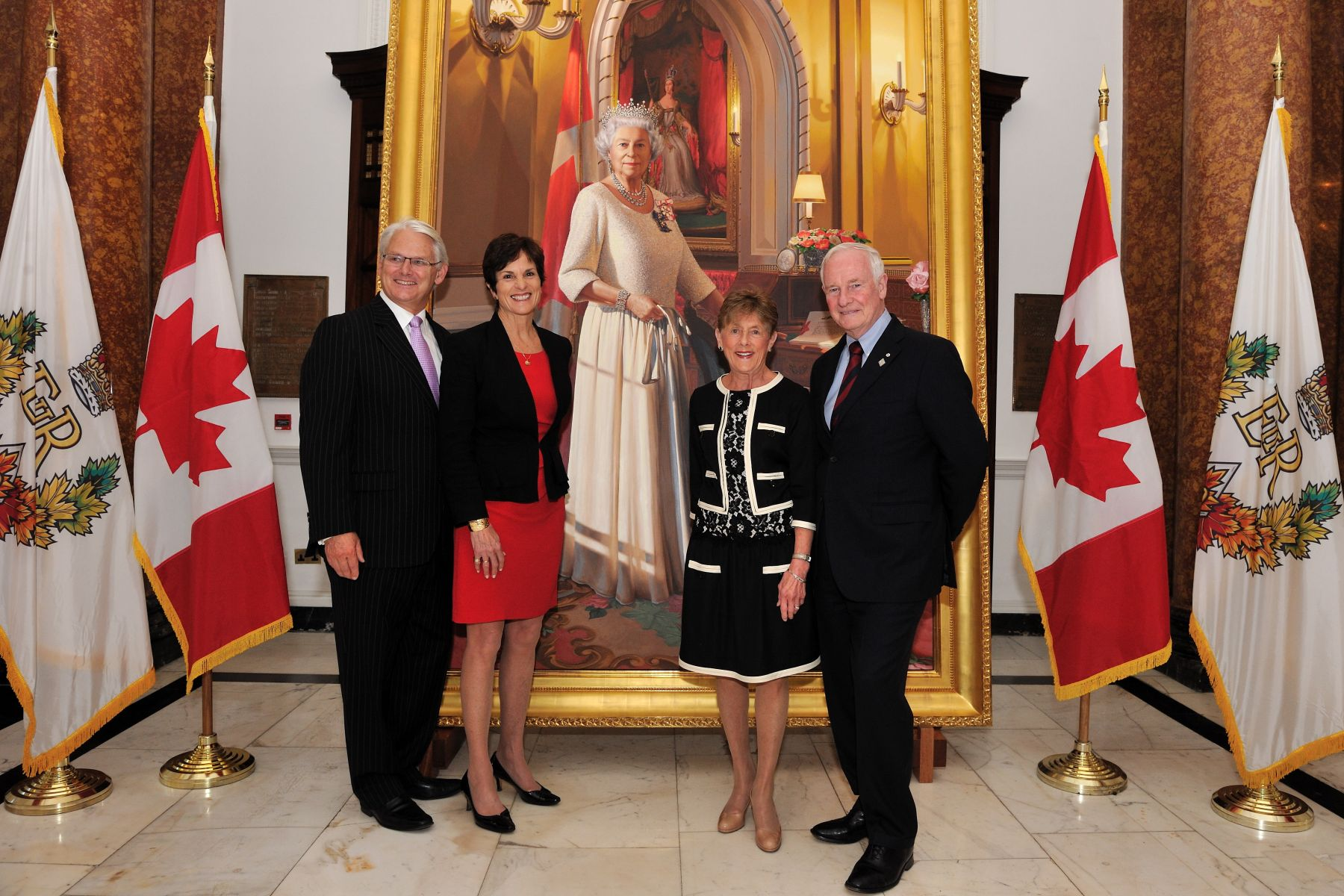 Their Excellencies attended a reception at Canada House with Mr. Gordon Campbell, High Commissioner of Canada to the United Kingdom of Great Britain and Northern Ireland.