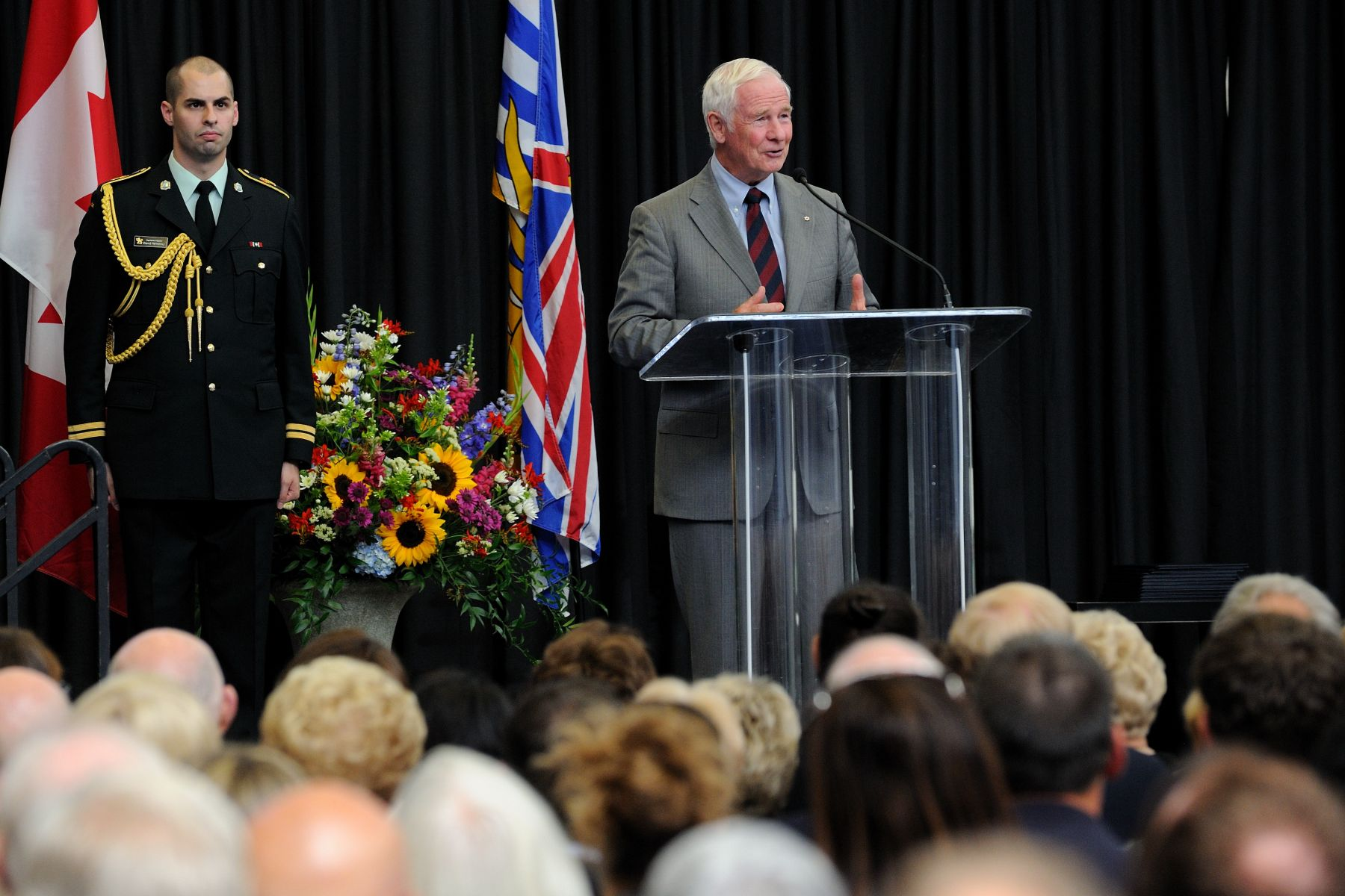 """The Victoria Community Foundation's new Smart and Caring program, The ABCs of Physical Literacy, is a great way to support children, to help them battle inactivity and gain confidence,"" said His Excellency. ""In turn, they might be inspired to help others throughout their lives, building on the kindness that they were shown early on. And who knows what they will think of to transform our communities in the future? And when this happens across the country, a better Canada is the result."""