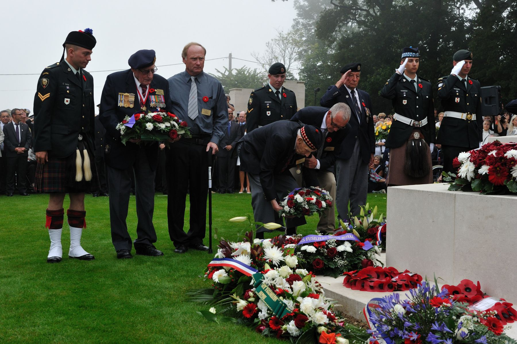 An event commemorating the Dieppe Raid is held at the Dieppe Canadian War Cemetery each year.