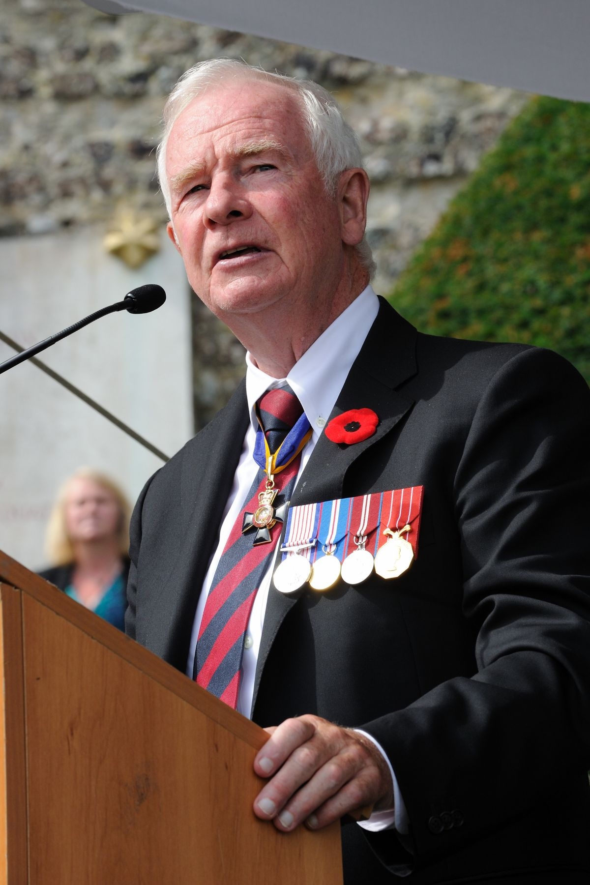 "The Governor General delivered a speech on the occasion: ""By all accounts—even those given by enemy soldiers—the Canadians who fought here were courageous, skilled and dedicated. As we mark this 70th anniversary of the raid on Dieppe, let us pay tribute to the sacrifices made by those brave soldiers. And let us honour the freedom for which they fought by renewing our dedication to building a more peaceful, fair and just world."""
