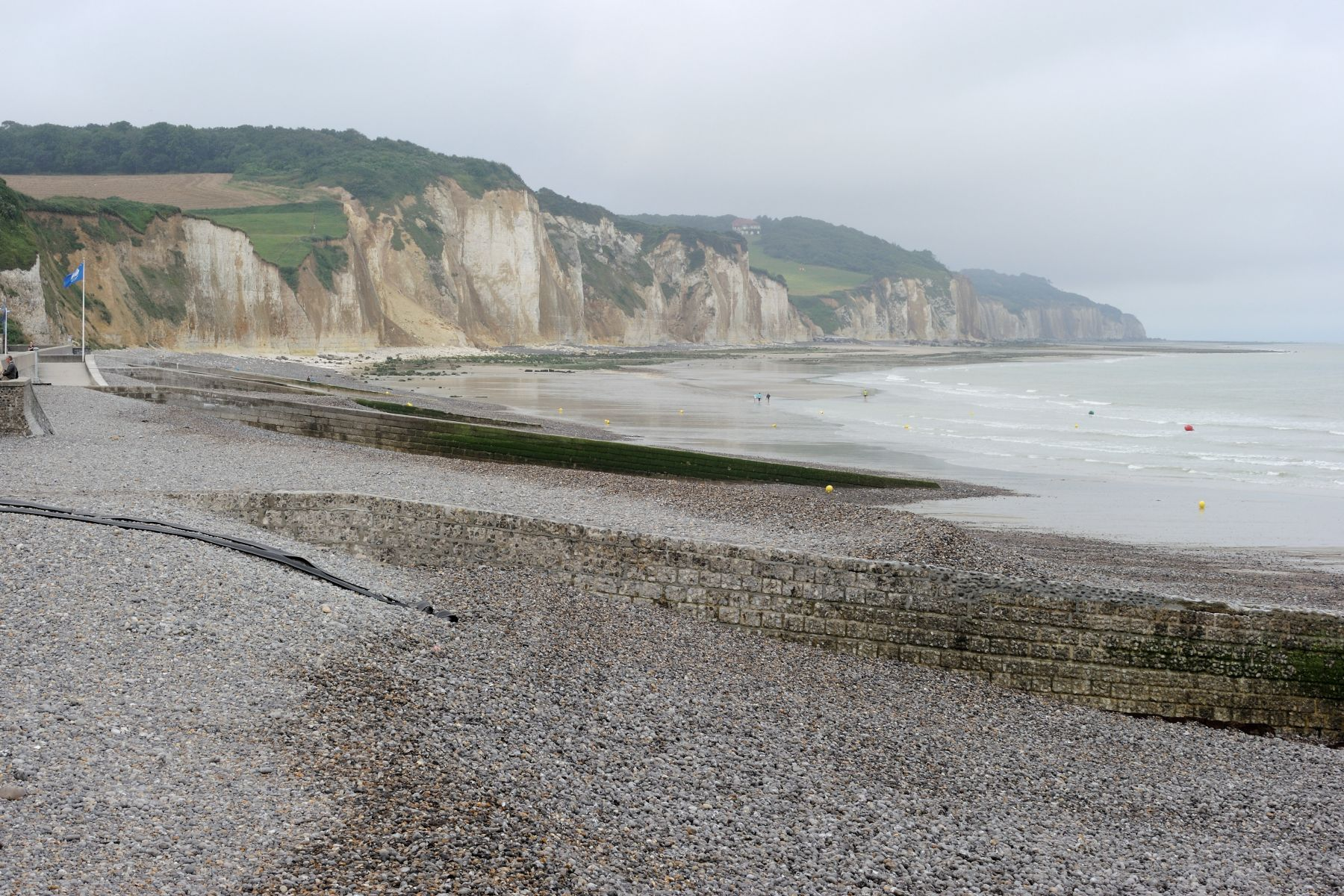 They also stopped at Pourville's Green Beach.