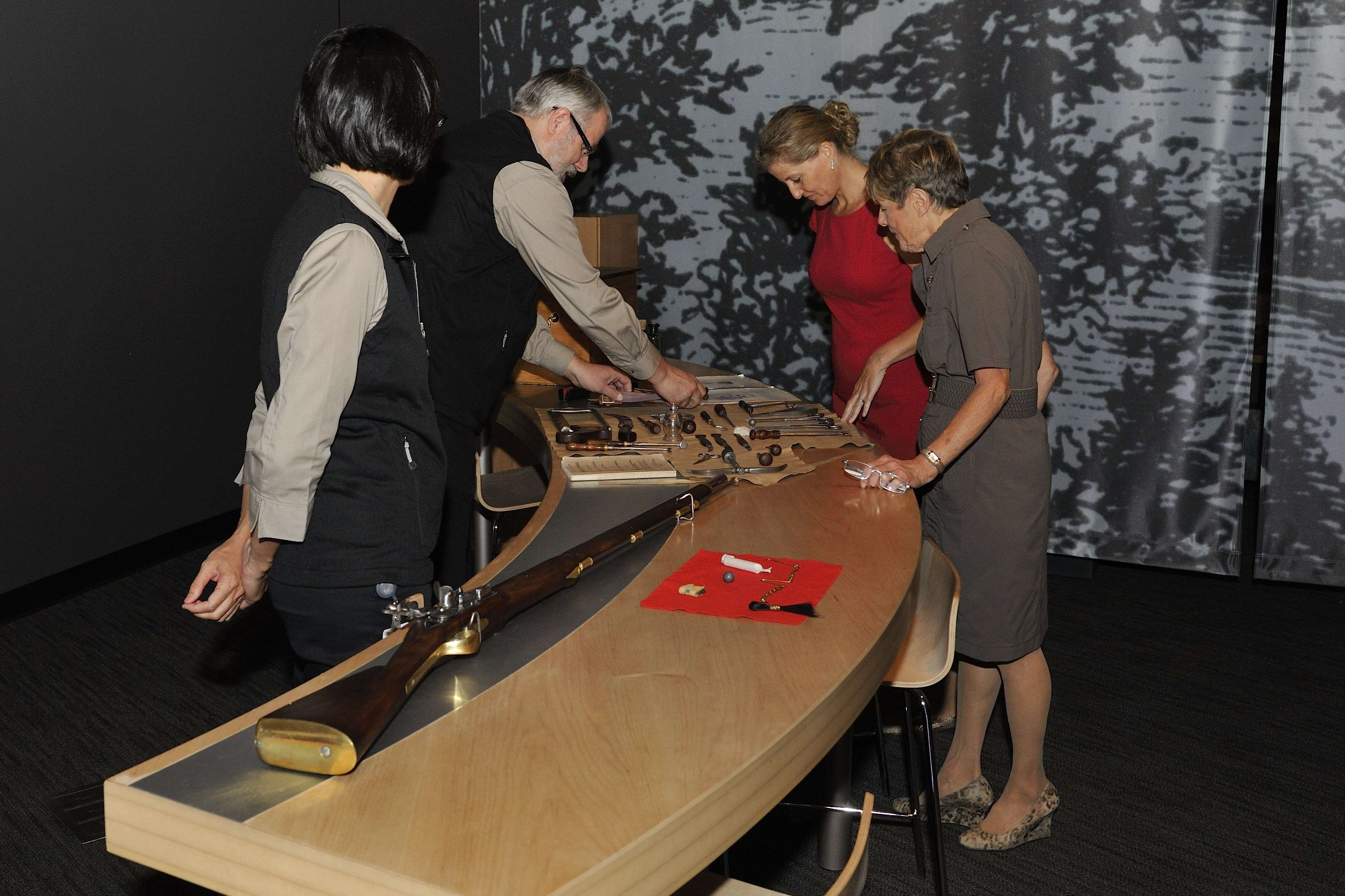 The exhibit features more than 160 artifacts, including iconic pieces from the Canadian War Museum's own world-renowned collections, and others from Library and Archives Canada, Parks Canada, the McCord Museum, the Niagara Historical Society Museum, the Peterborough Museum and Archives, and the City of Toronto.